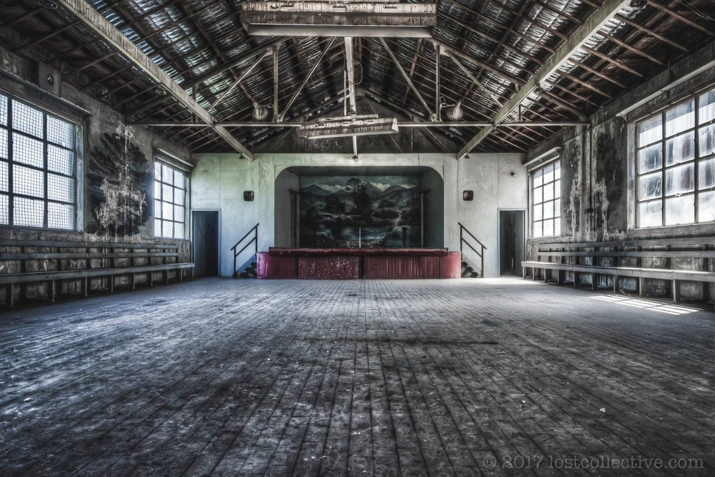 entertainment hall of white bay power station - ignant - lost collective