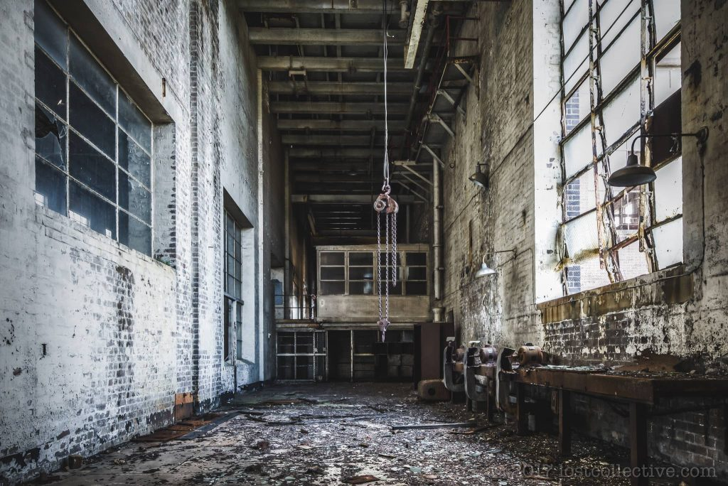 a workshop in white bay power station - lost collective