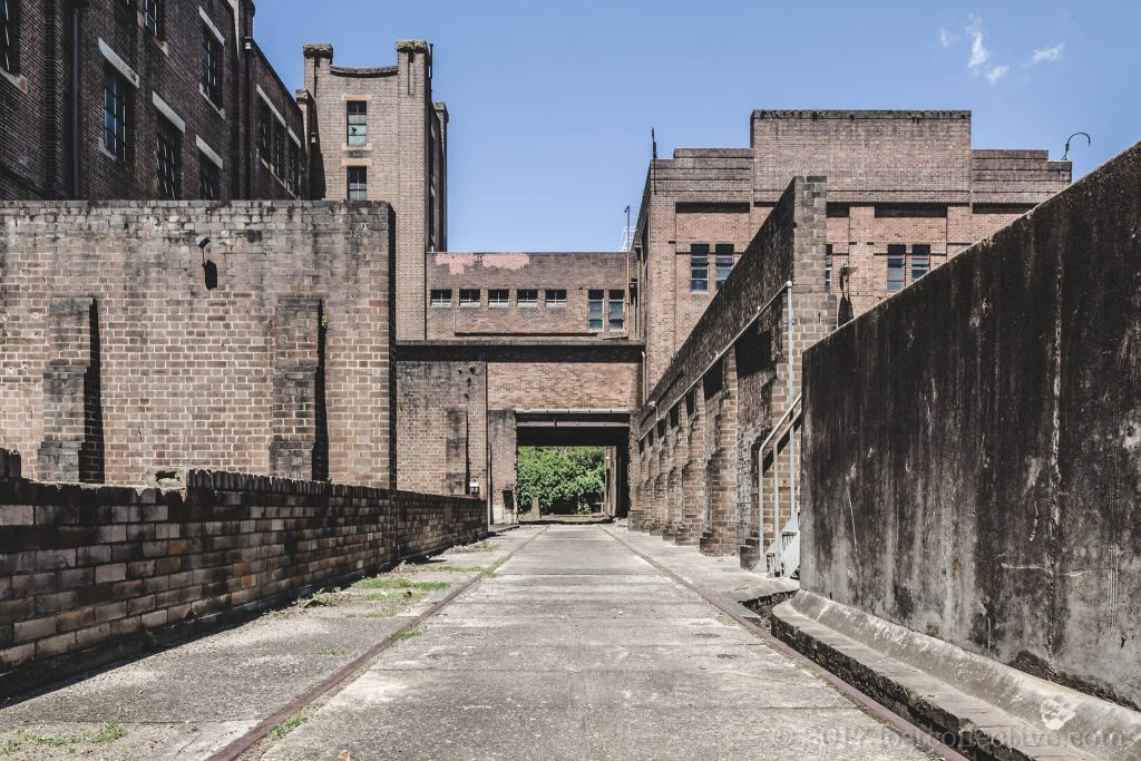 the transformer yard corridor of white bay power station - smith journal - lost collective