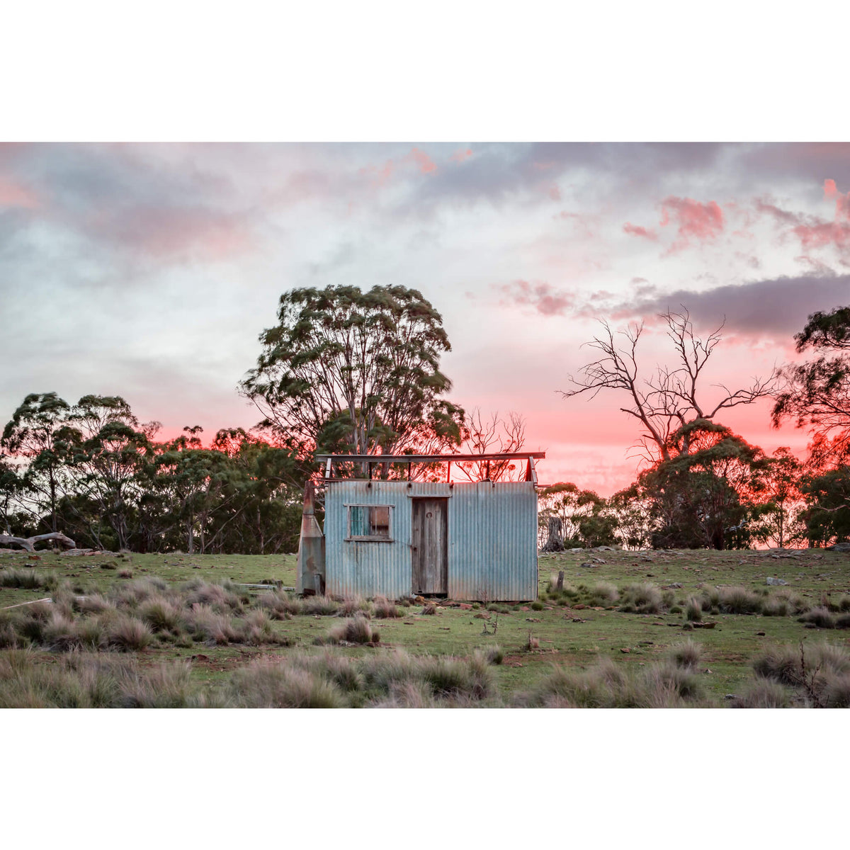 Gunningrah Drover's Hut | A Place To Call Home Fine Art Print - Lost Collective Shop