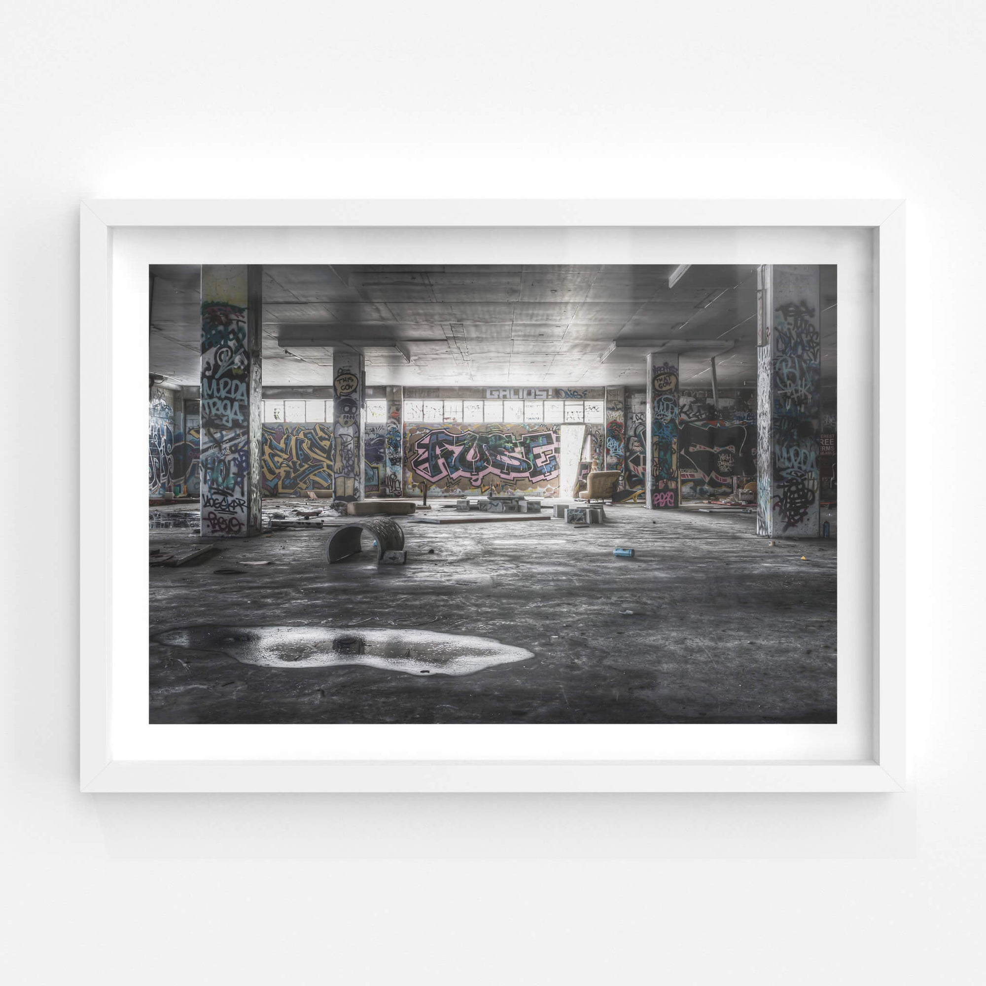 Basement | Abandoned Bakery Fine Art Print - Lost Collective Shop