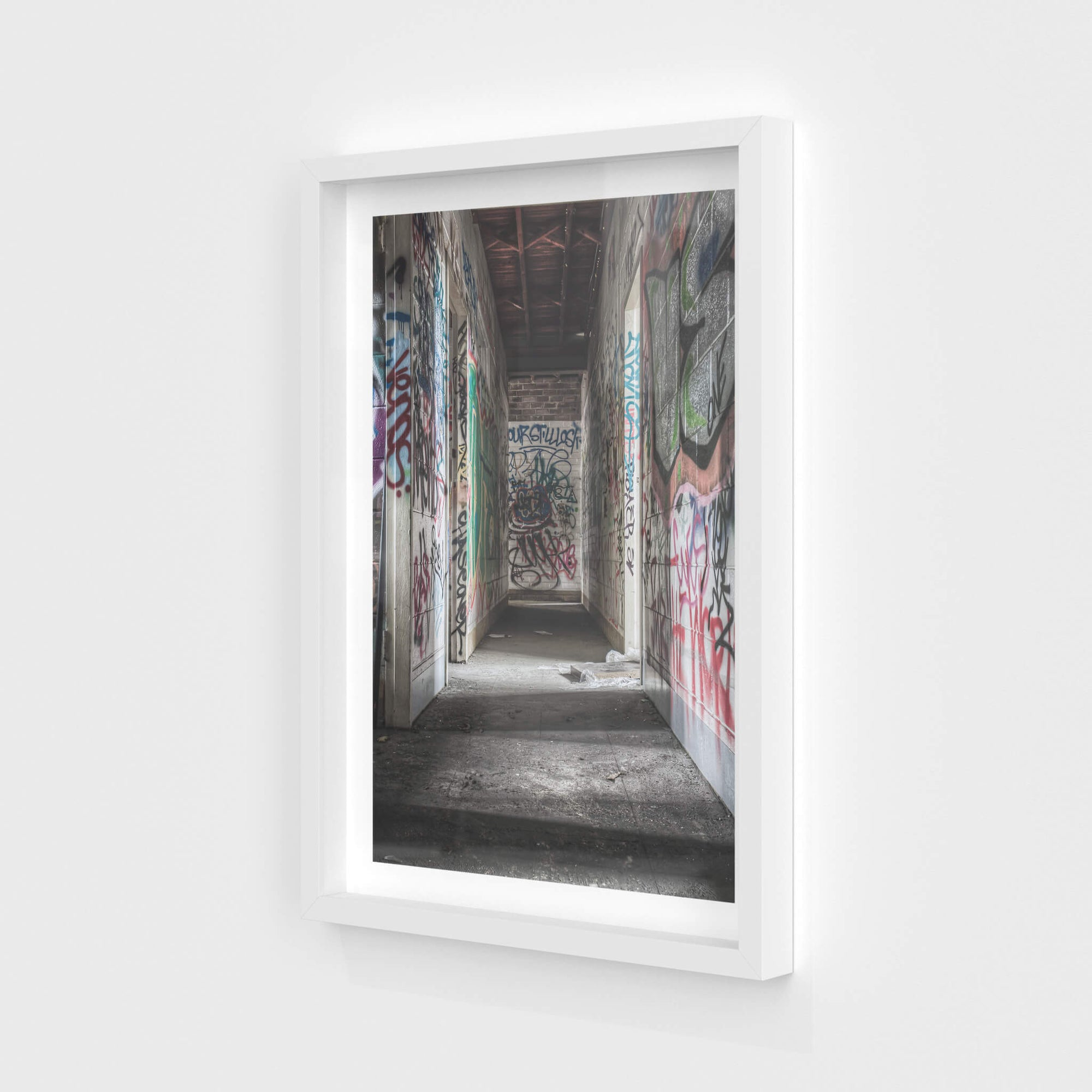 Hallway | Abandoned Bakery Fine Art Print - Lost Collective Shop