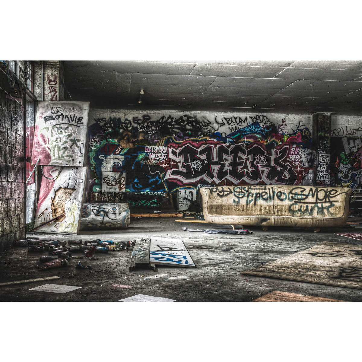 Hangout | Abandoned Bakery Fine Art Print - Lost Collective Shop