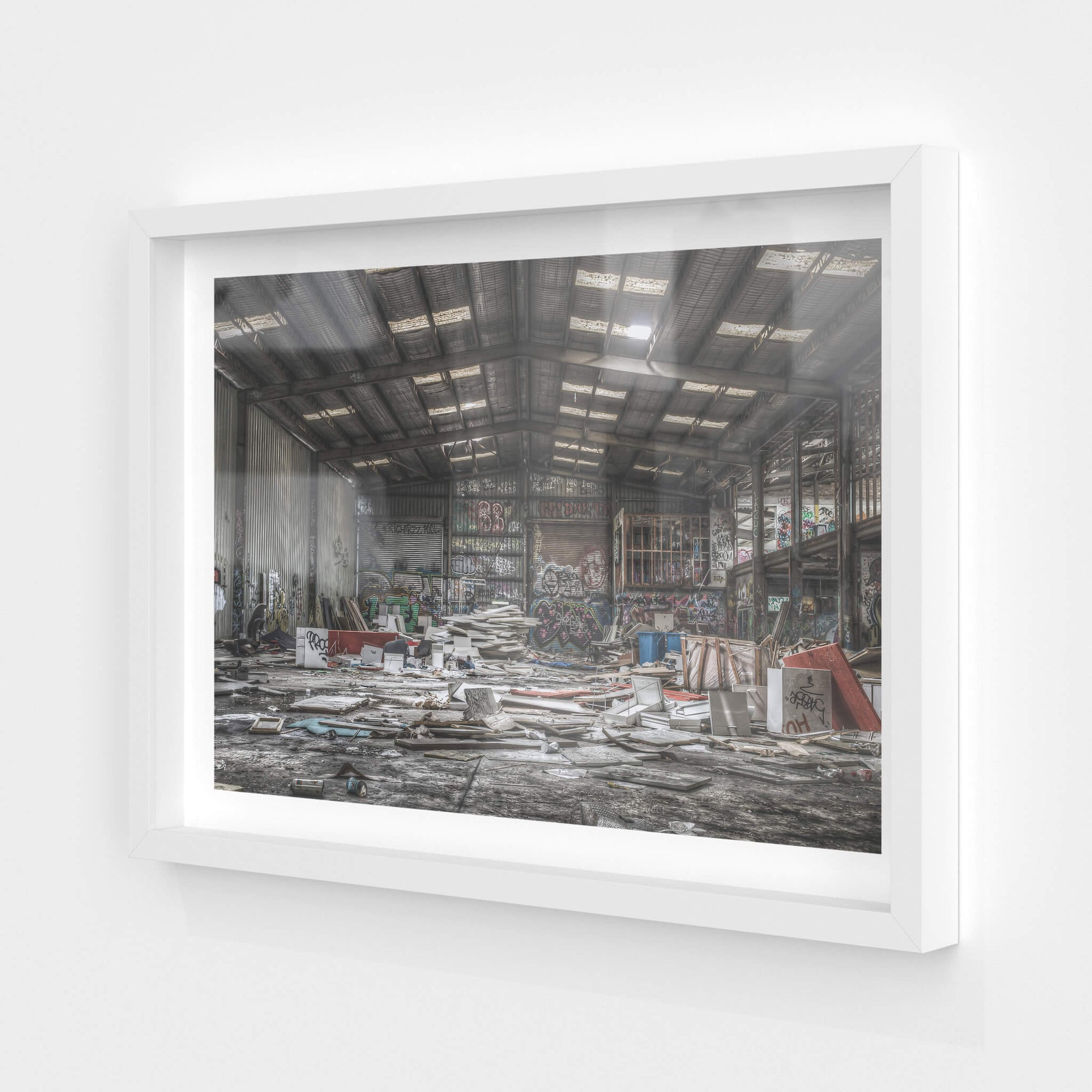 Main Floor East | Abandoned Bakery Fine Art Print - Lost Collective Shop