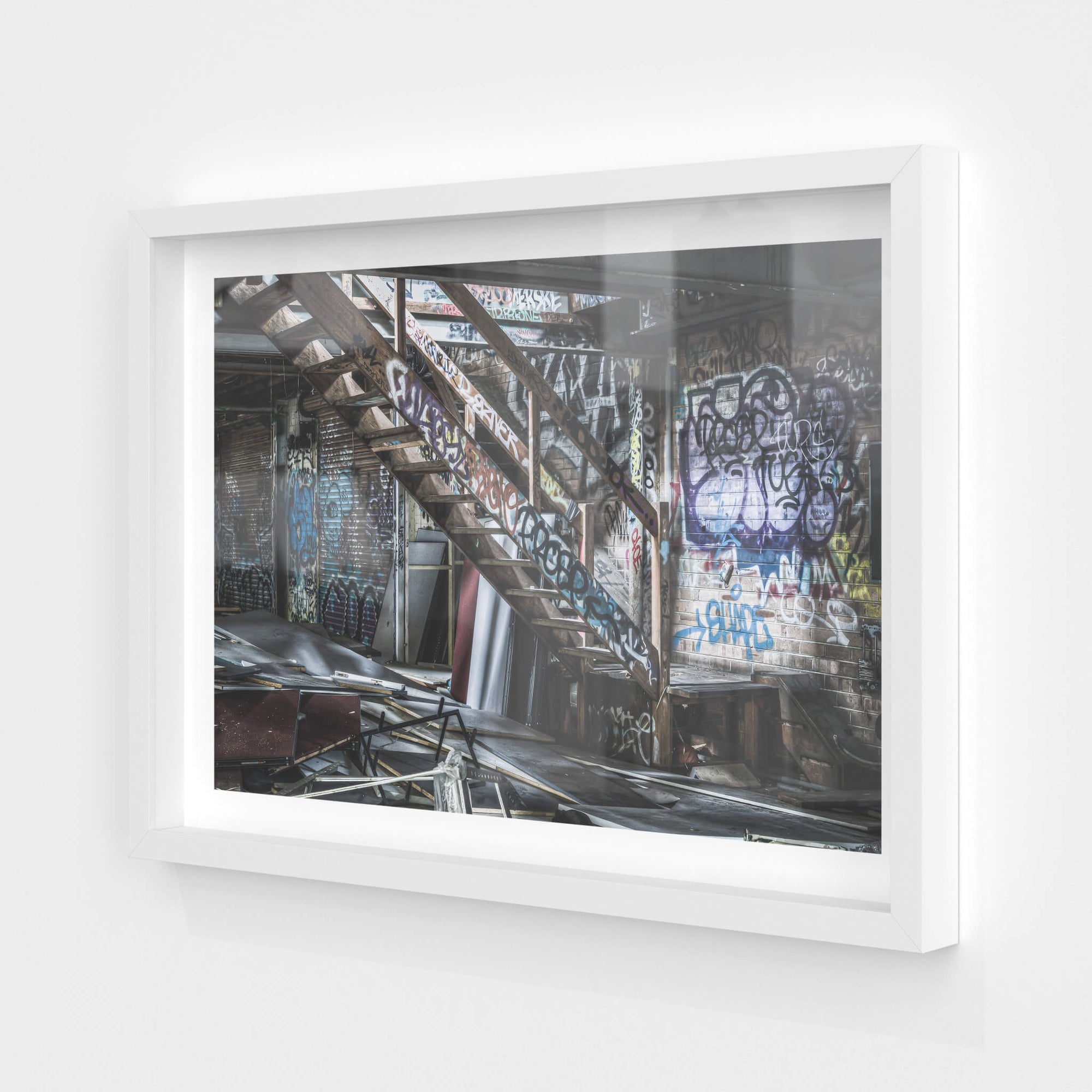 Main Floor To Mezzanine | Abandoned Bakery Fine Art Print - Lost Collective Shop