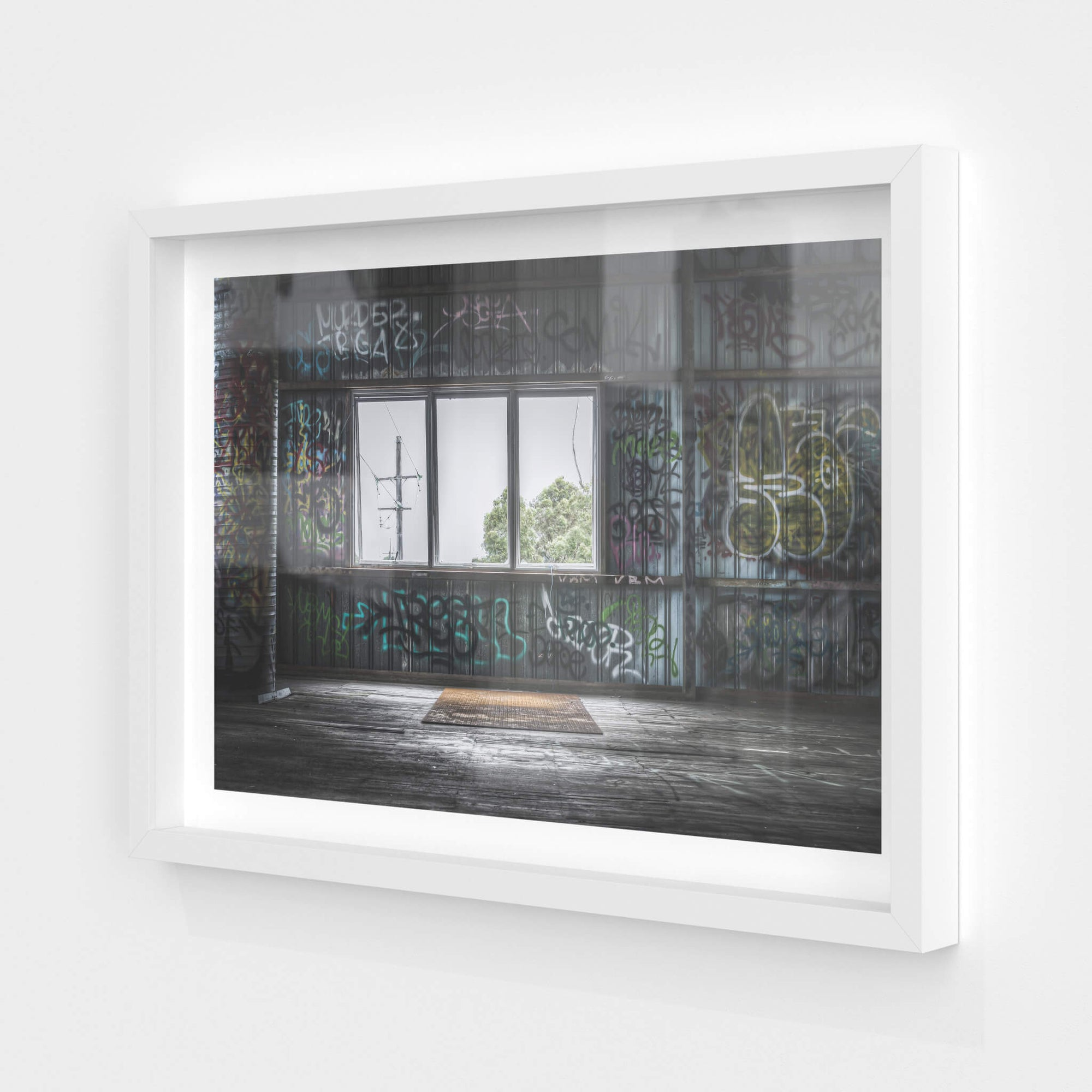 Mezzanine Back Wall | Abandoned Bakery Fine Art Print - Lost Collective Shop