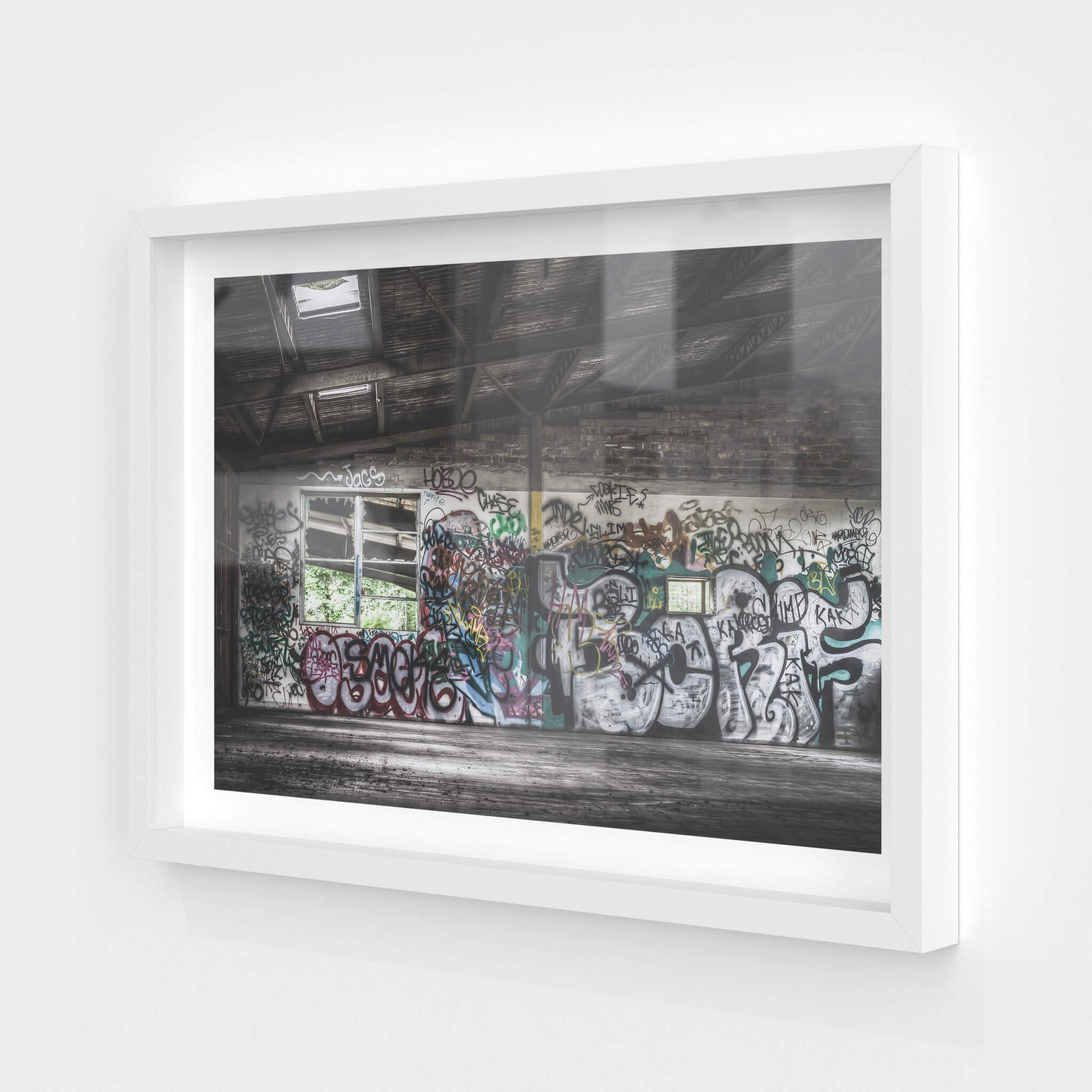 Office Mezzanine | Abandoned Bakery Fine Art Print - Lost Collective Shop