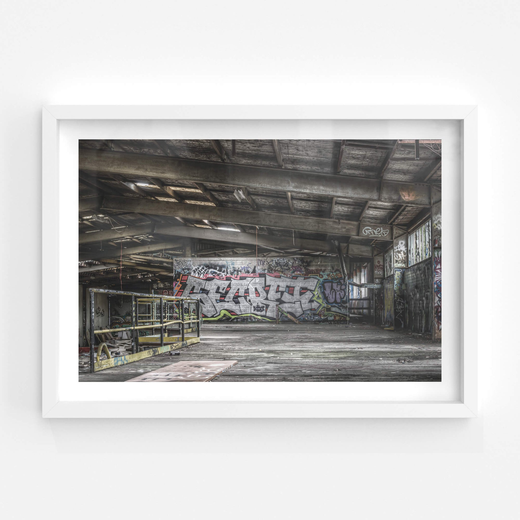 Rear Mezzanine | Abandoned Bakery Fine Art Print - Lost Collective Shop