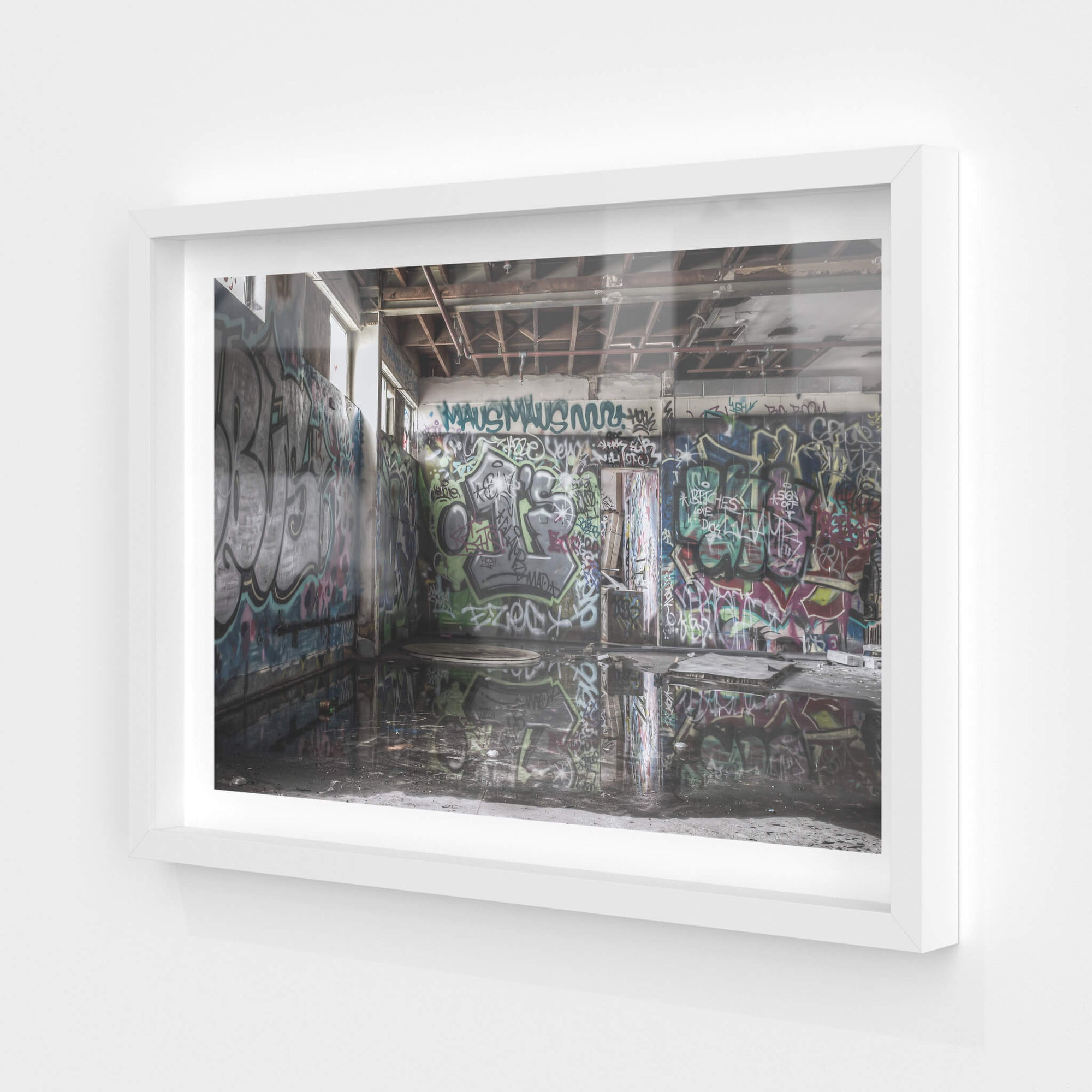Reflections | Abandoned Bakery Fine Art Print - Lost Collective Shop