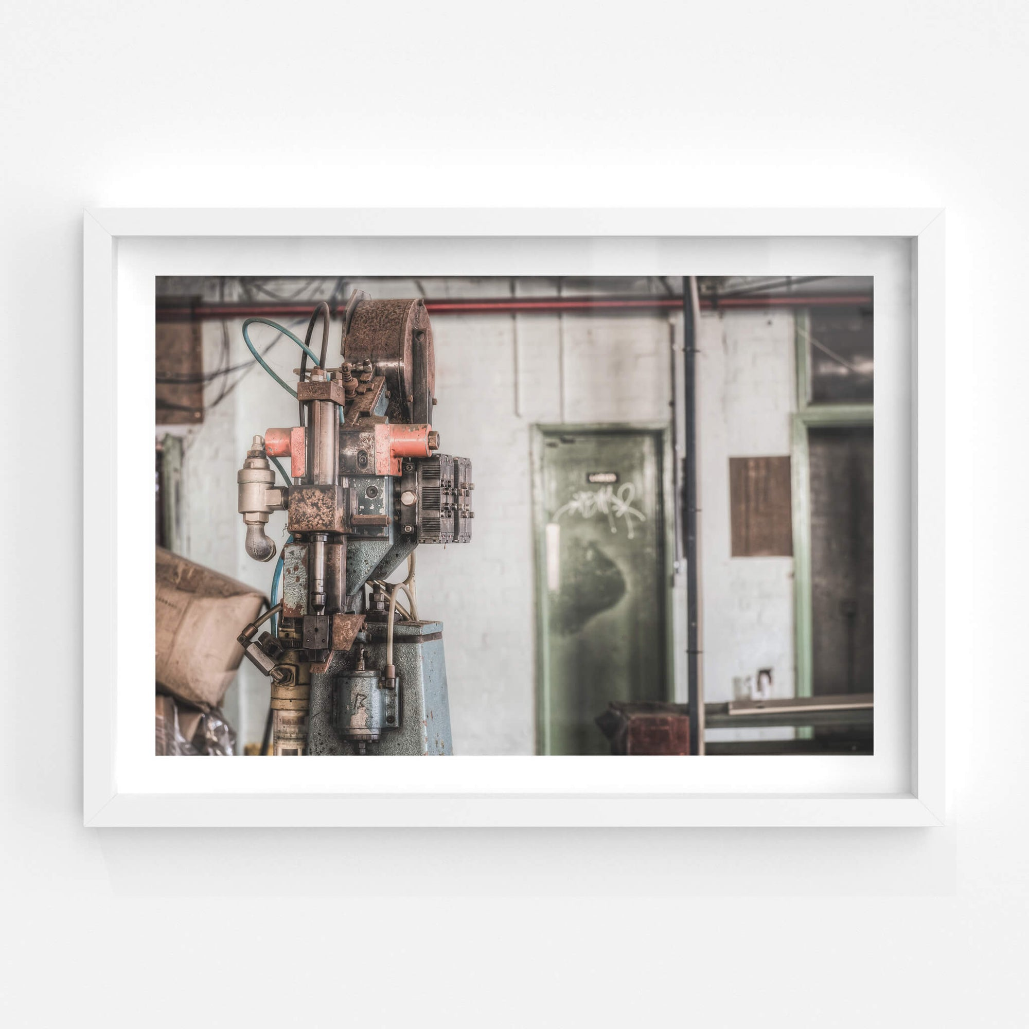 Clicker Press | Abandoned Shoe Factory Fine Art Print - Lost Collective Shop