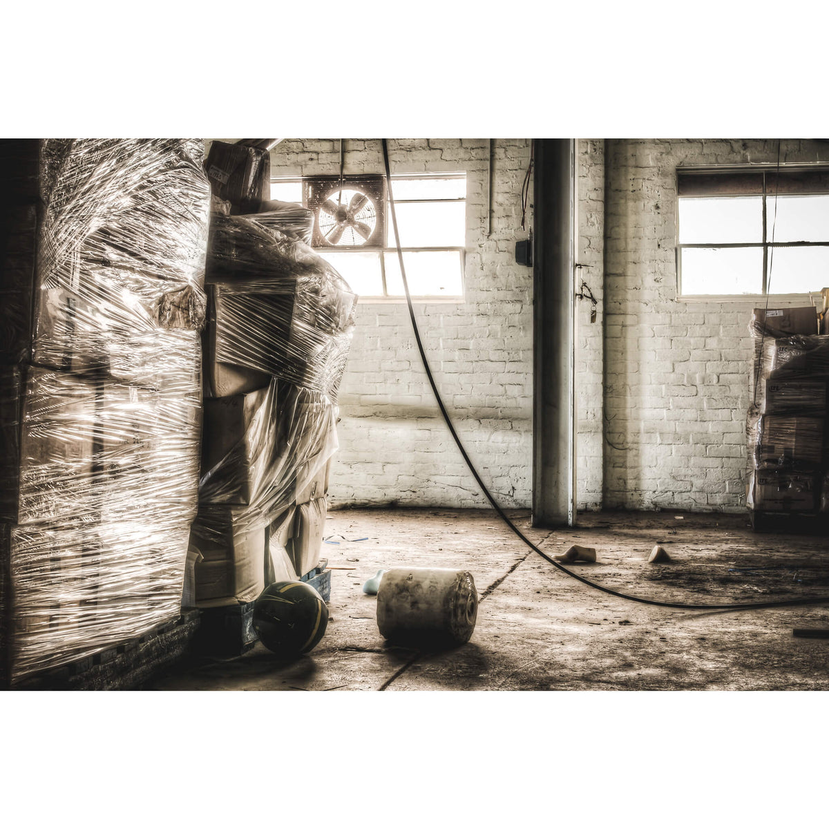 Dispatch | Abandoned Shoe Factory Fine Art Print - Lost Collective Shop