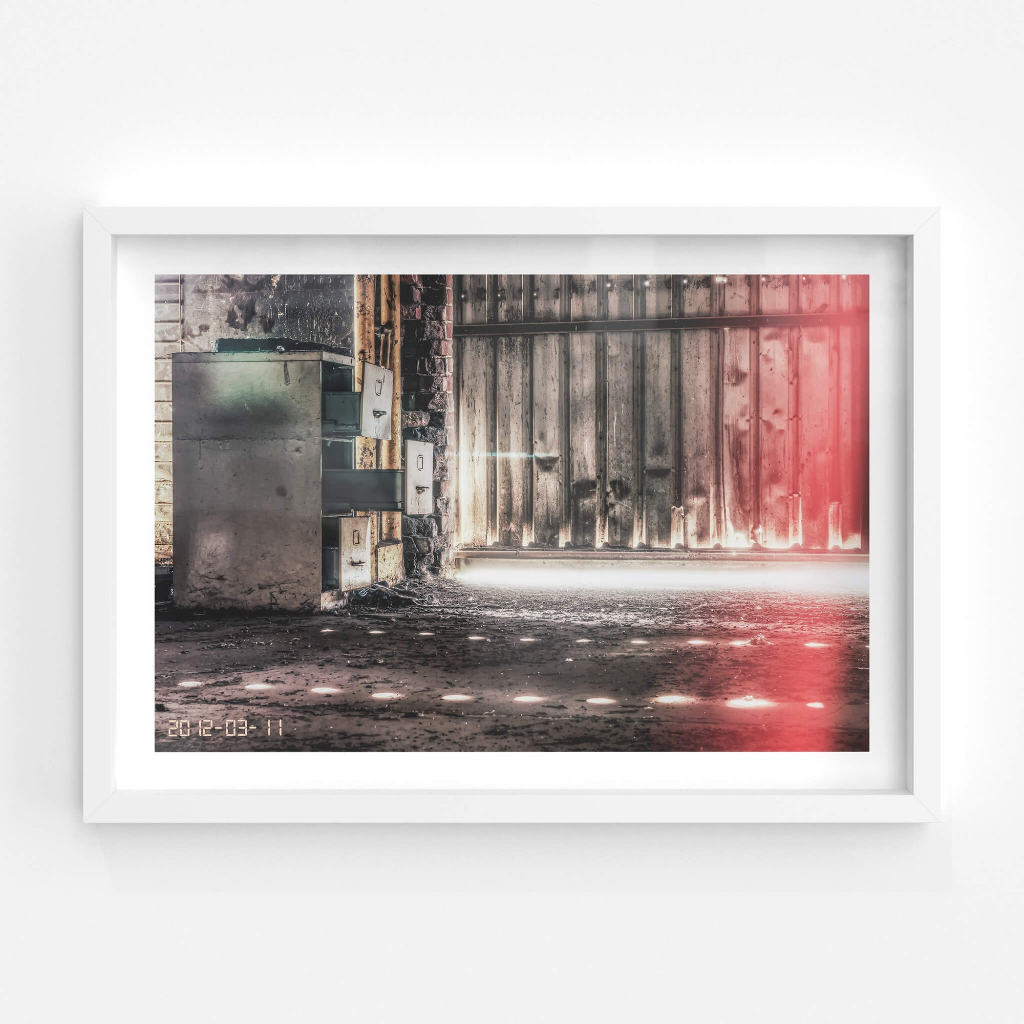 Filing Cabinet | Abandoned Shoe Factory Fine Art Print - Lost Collective Shop