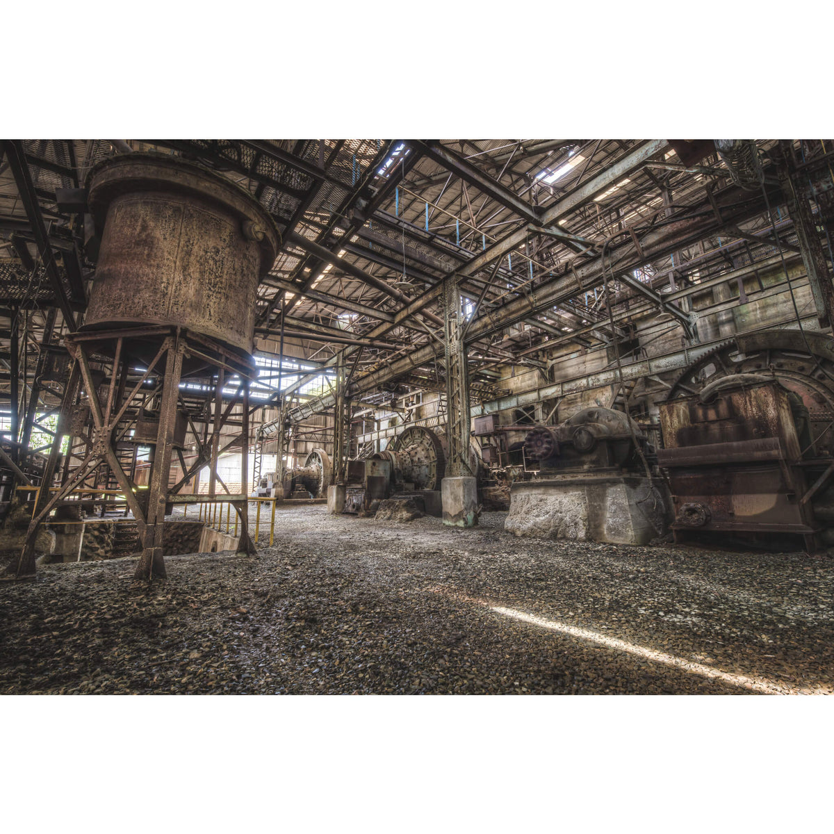 Ball Mills | Ashio Copper Mine Fine Art Print - Lost Collective Shop