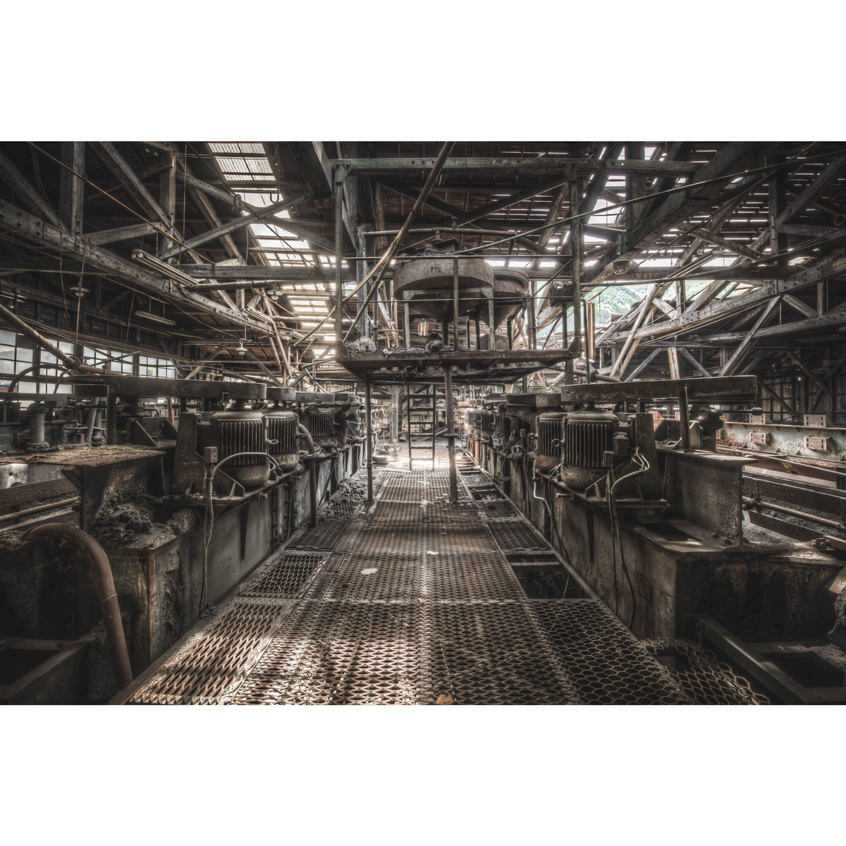Cleaning Flotation | Ashio Copper Mine Fine Art Print - Lost Collective Shop