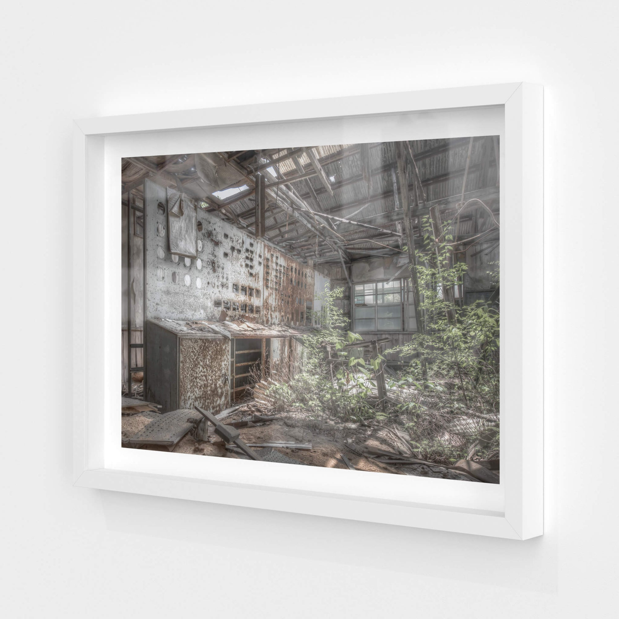 Control Room | Ashio Copper Mine Fine Art Print - Lost Collective Shop
