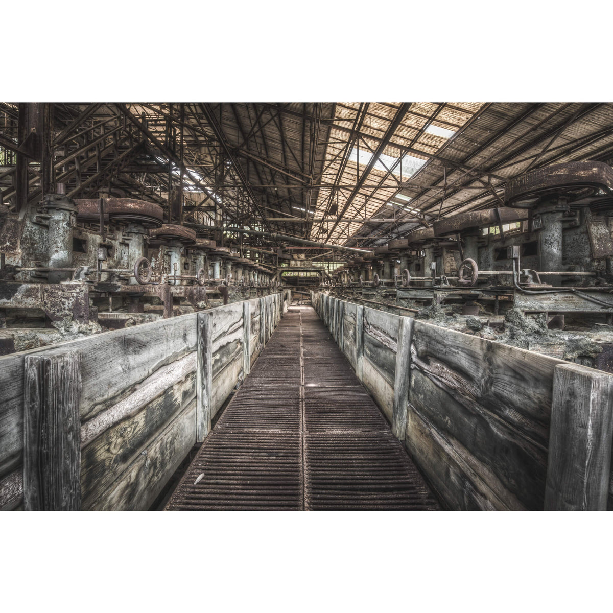 Froth Flotation Cells | Ashio Copper Mine Fine Art Print - Lost Collective Shop