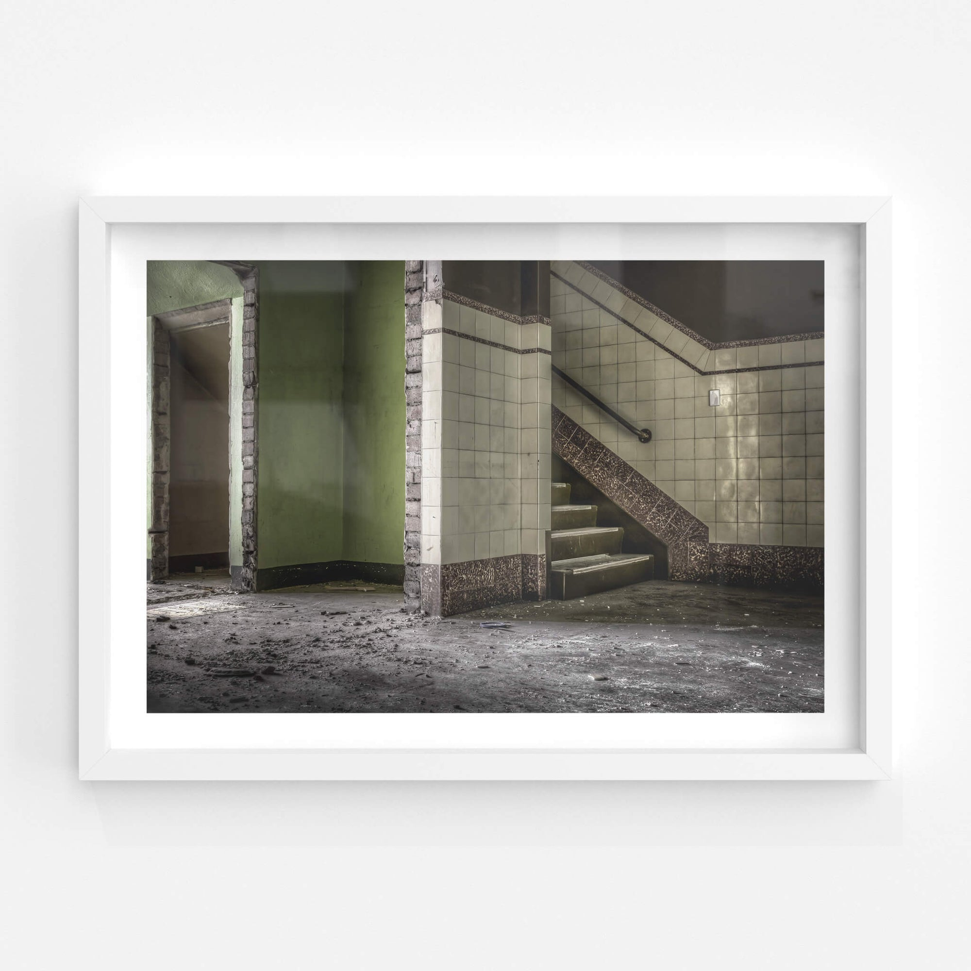 Amenities Ground Level | ATL Building Fine Art Print - Lost Collective Shop