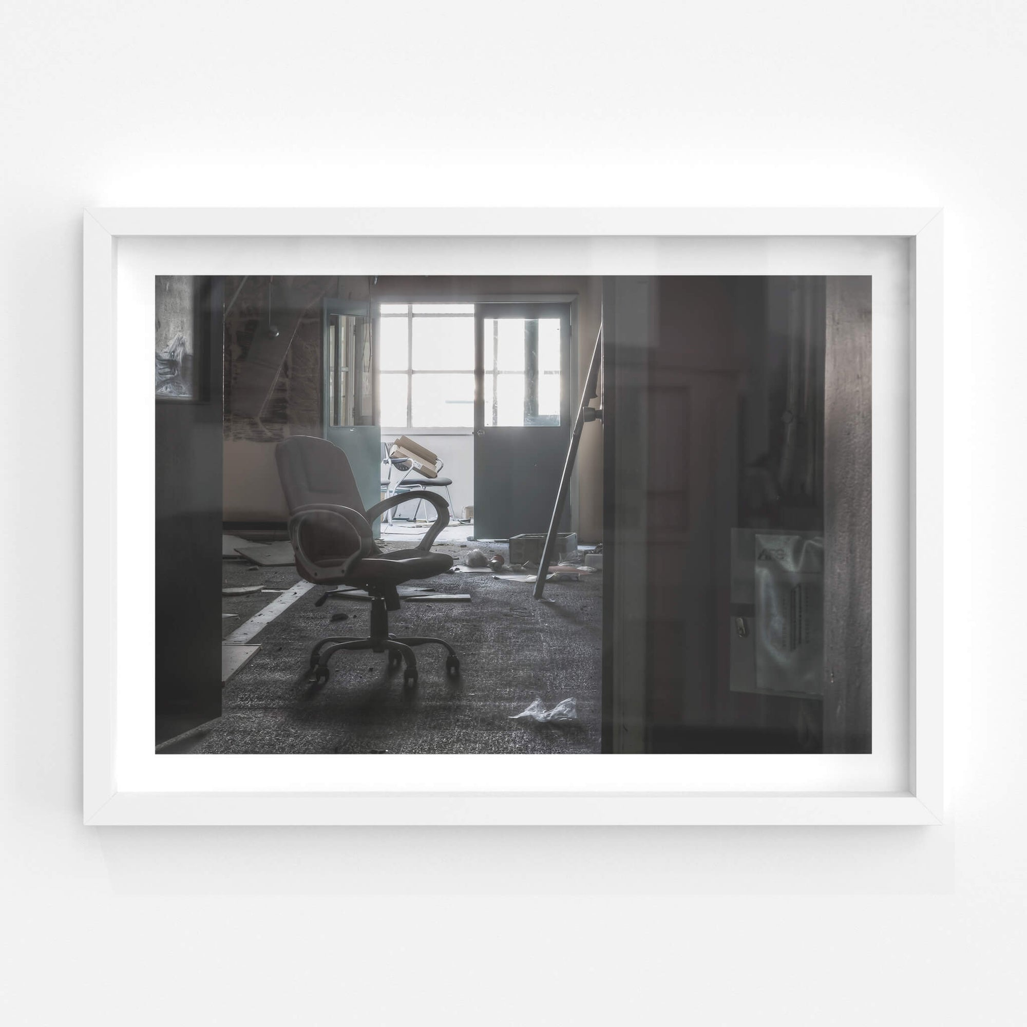 End of Office Block | ATL Building Fine Art Print - Lost Collective Shop