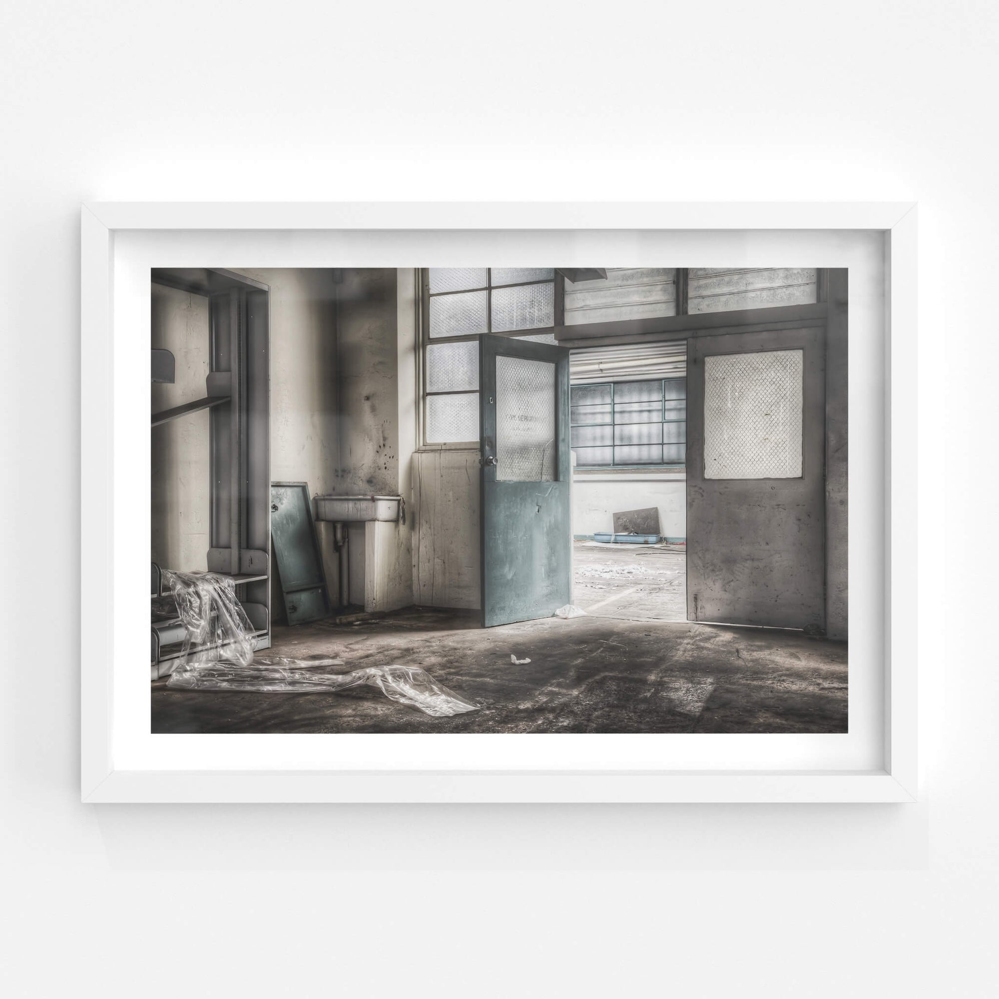 PE Department | ATL Building Fine Art Print - Lost Collective Shop