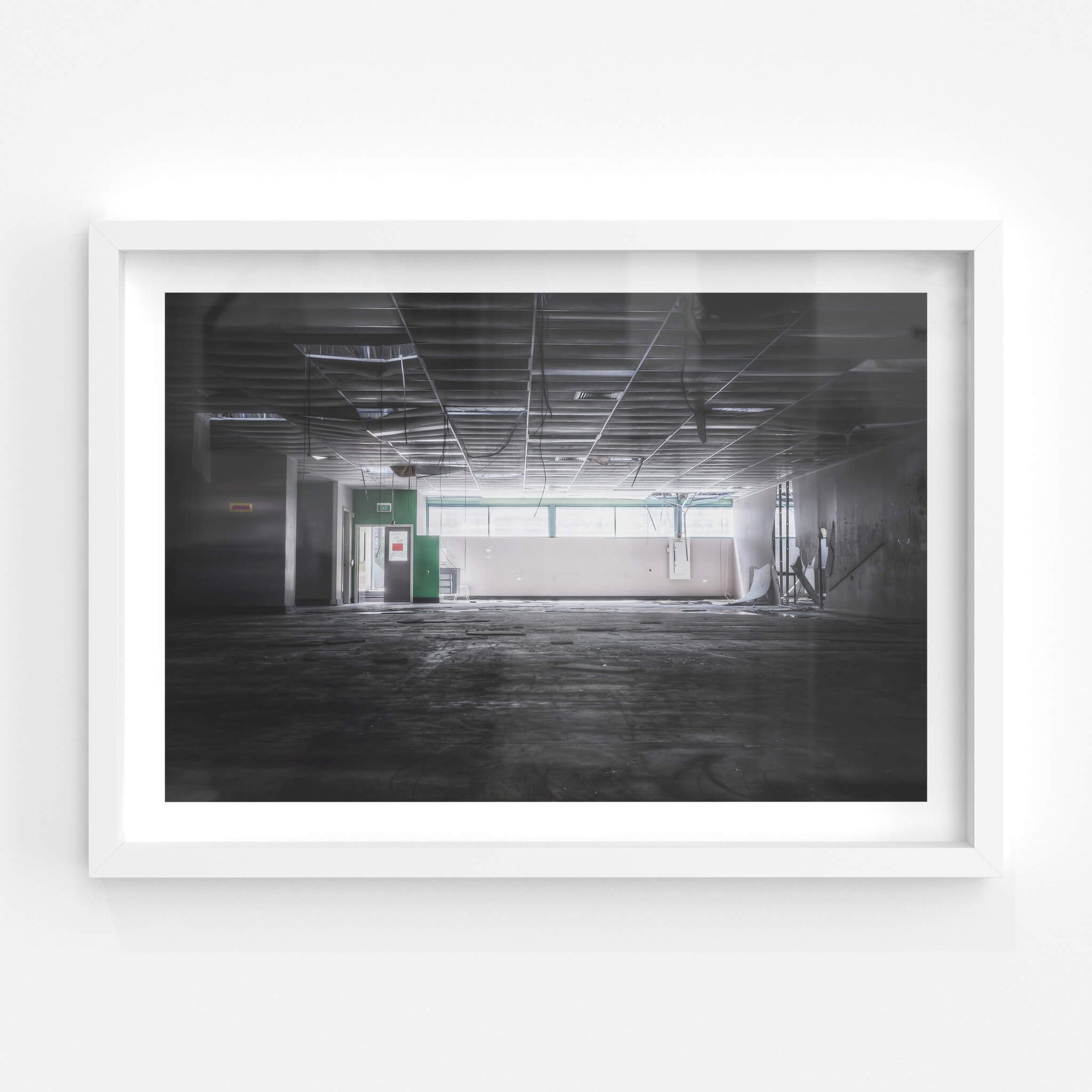 Rear Tool Room | ATL Building Fine Art Print - Lost Collective Shop