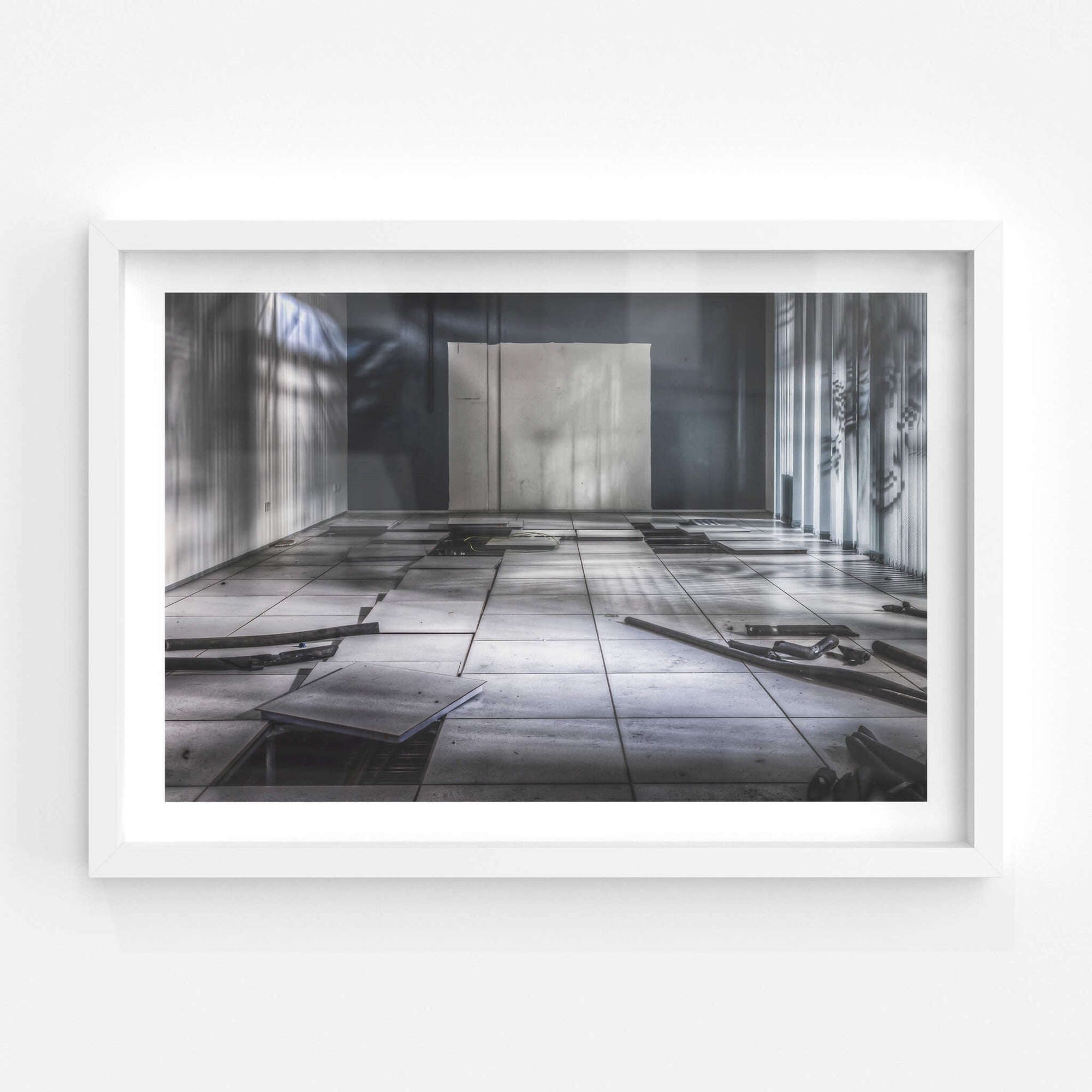 Server Room | ATL Building Fine Art Print - Lost Collective Shop