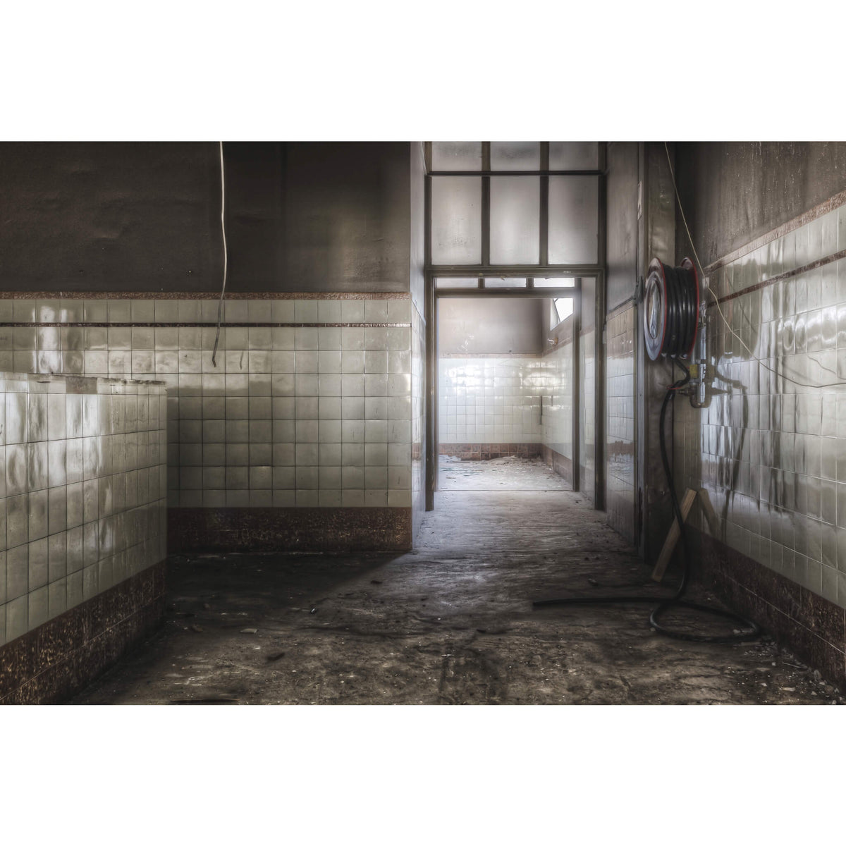 Showers Entrance | ATL Building Fine Art Print - Lost Collective Shop