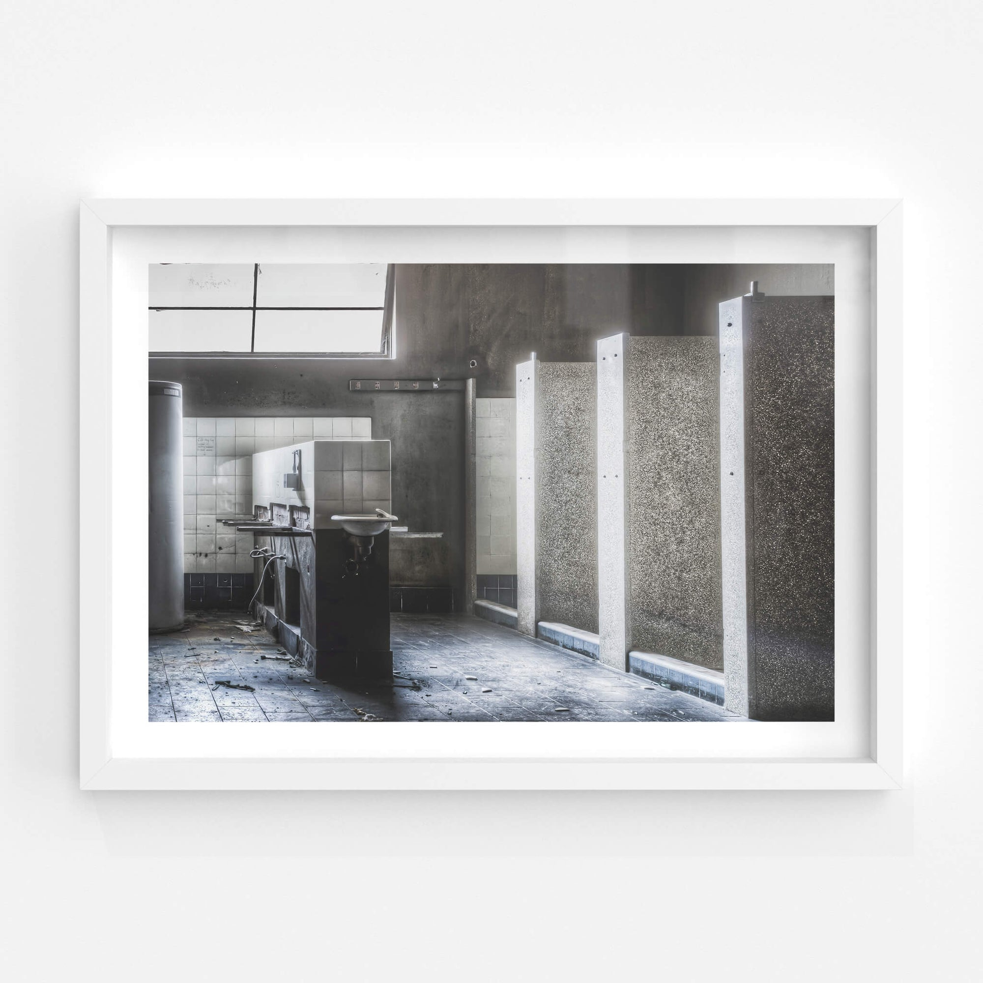 Showers | ATL Building Fine Art Print - Lost Collective Shop