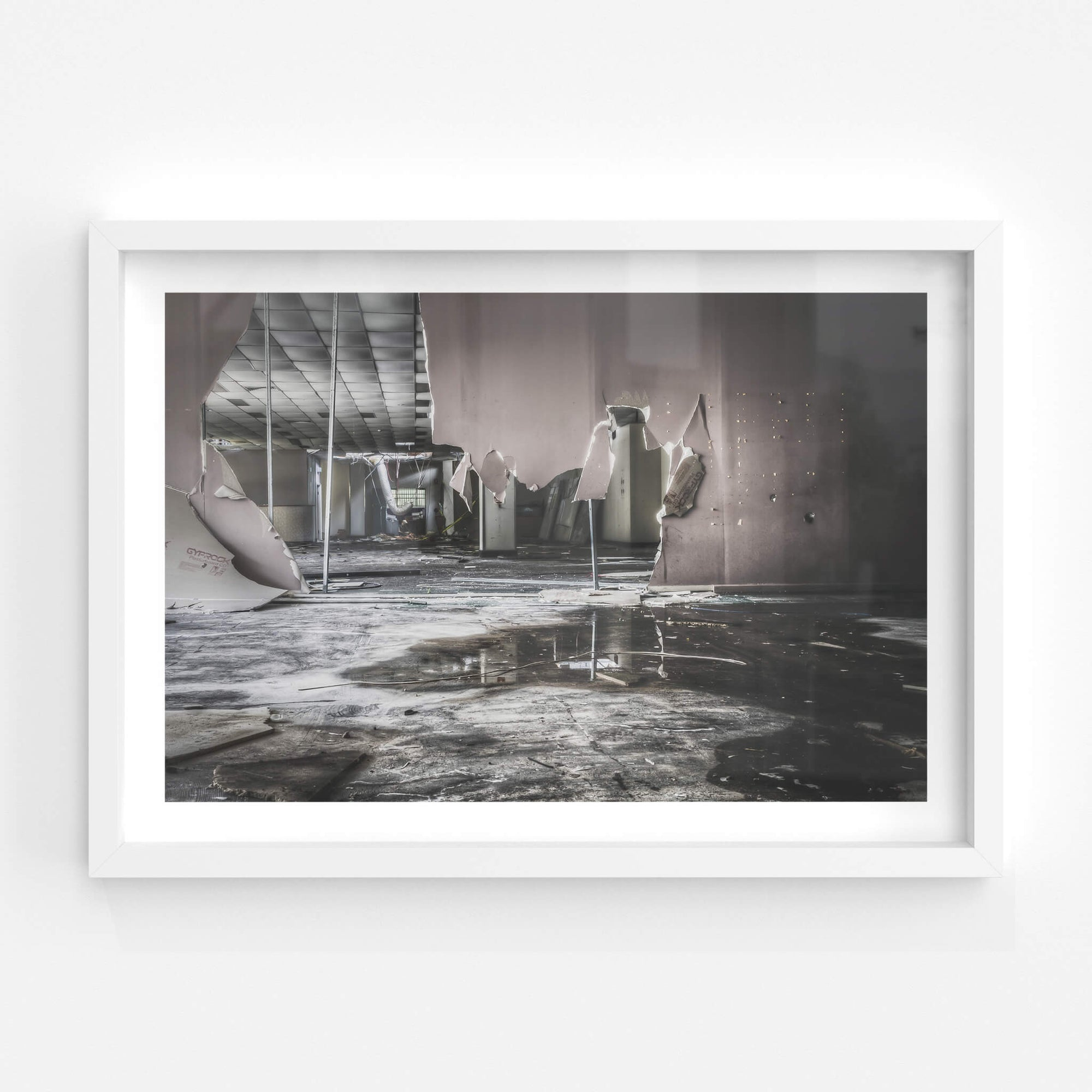 Toolroom Length | ATL Building Fine Art Print - Lost Collective Shop