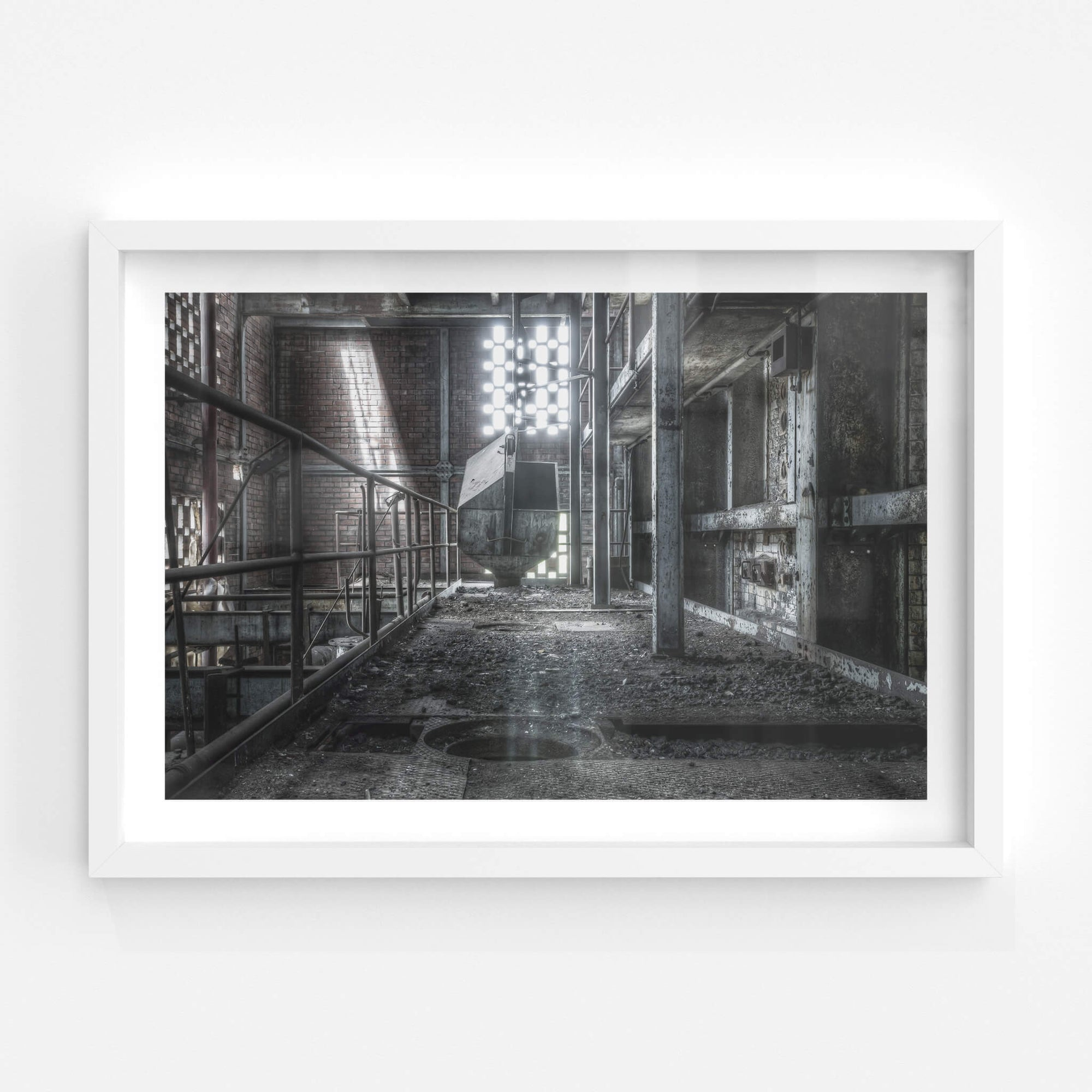 Retort Building Level One | Bathurst Gasworks Fine Art Print - Lost Collective Shop