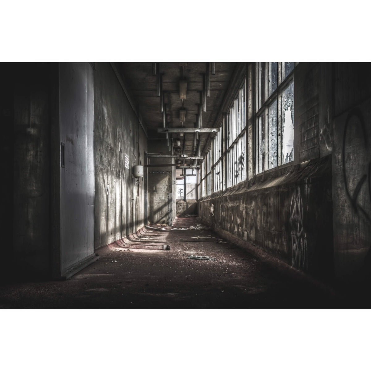 Cool Room Hall | Blayney Abattoir Fine Art Print - Lost Collective Shop