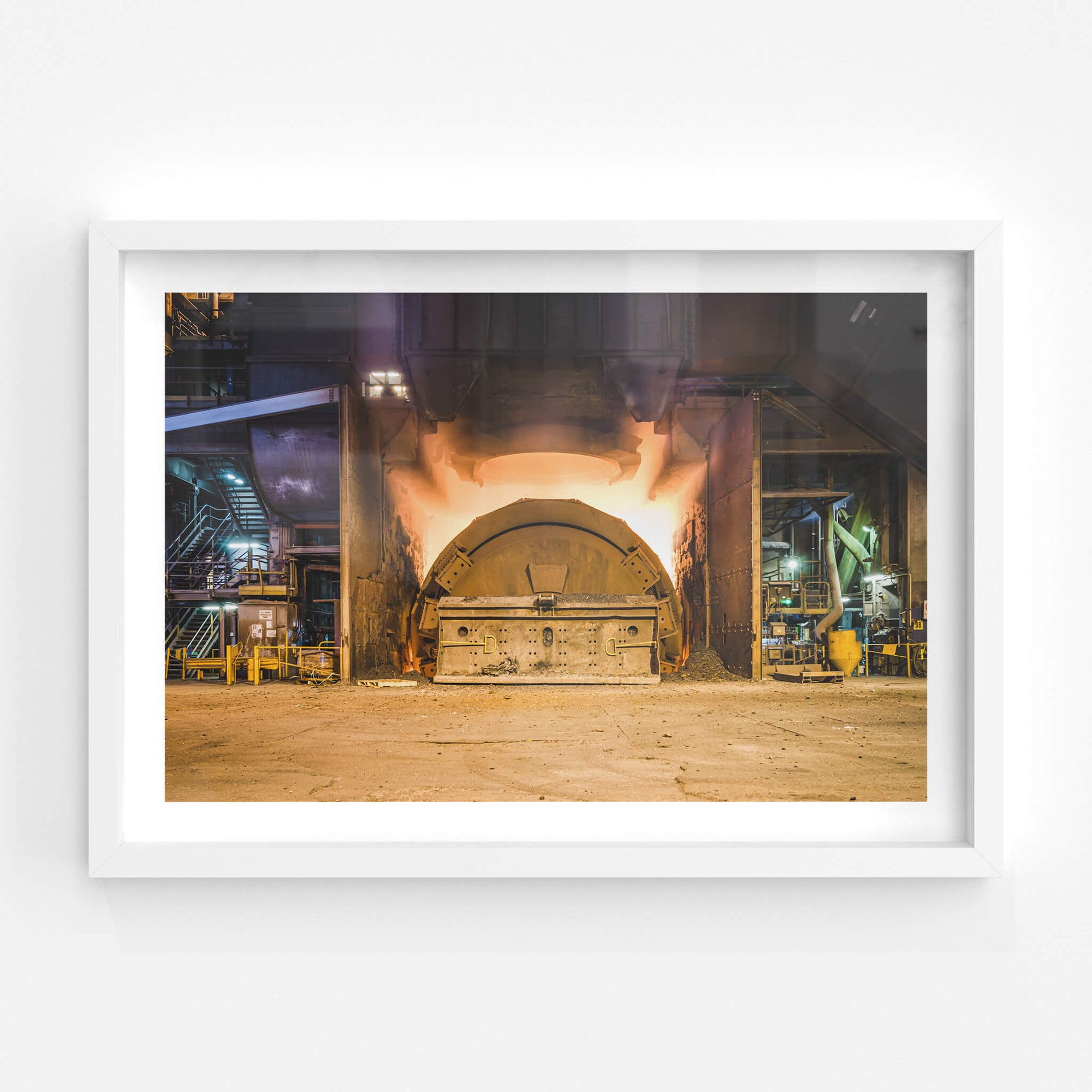 Steel Tapping | BlueScope Port Kembla Fine Art Print - Lost Collective Shop