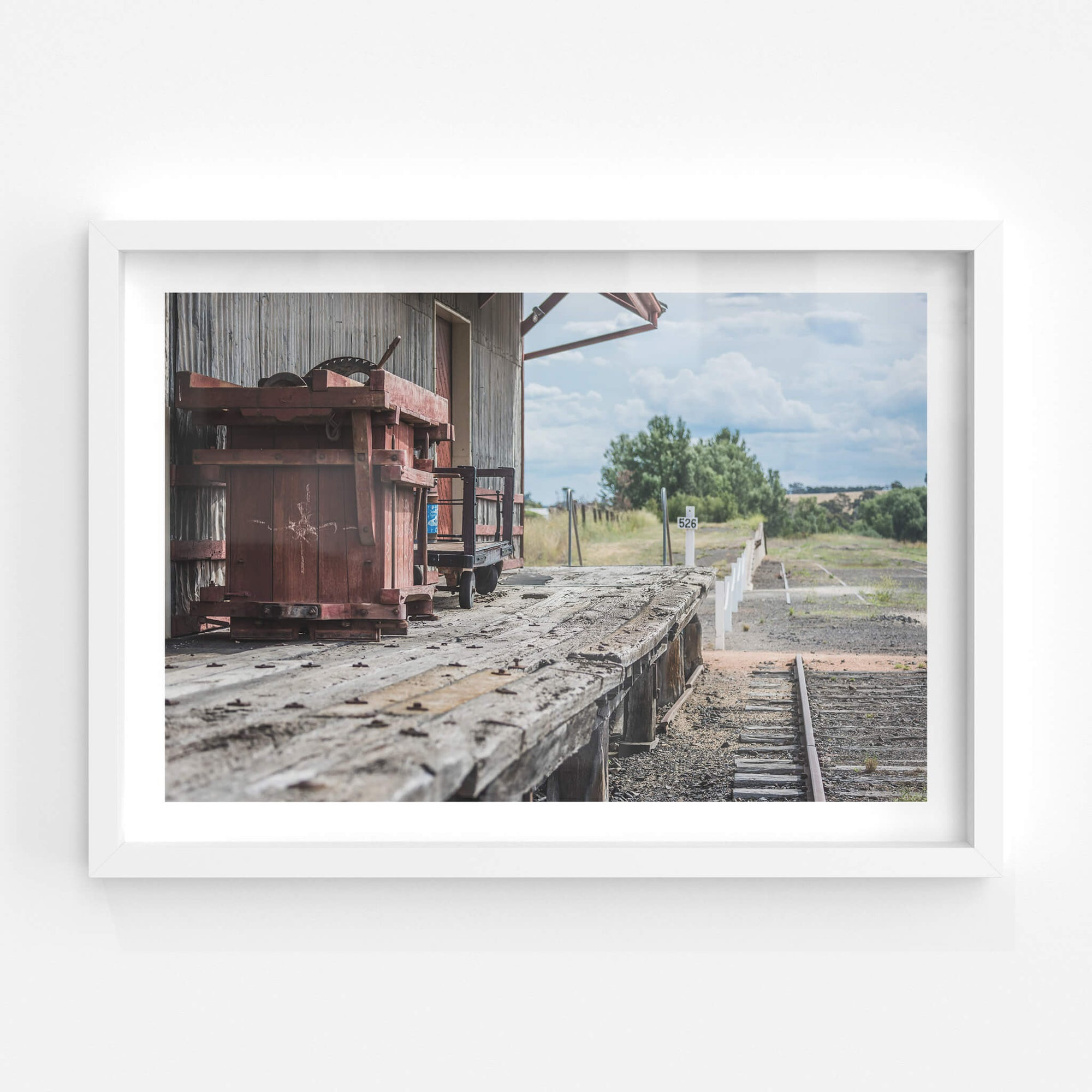 Goods Shed Flooring | Bombala Station