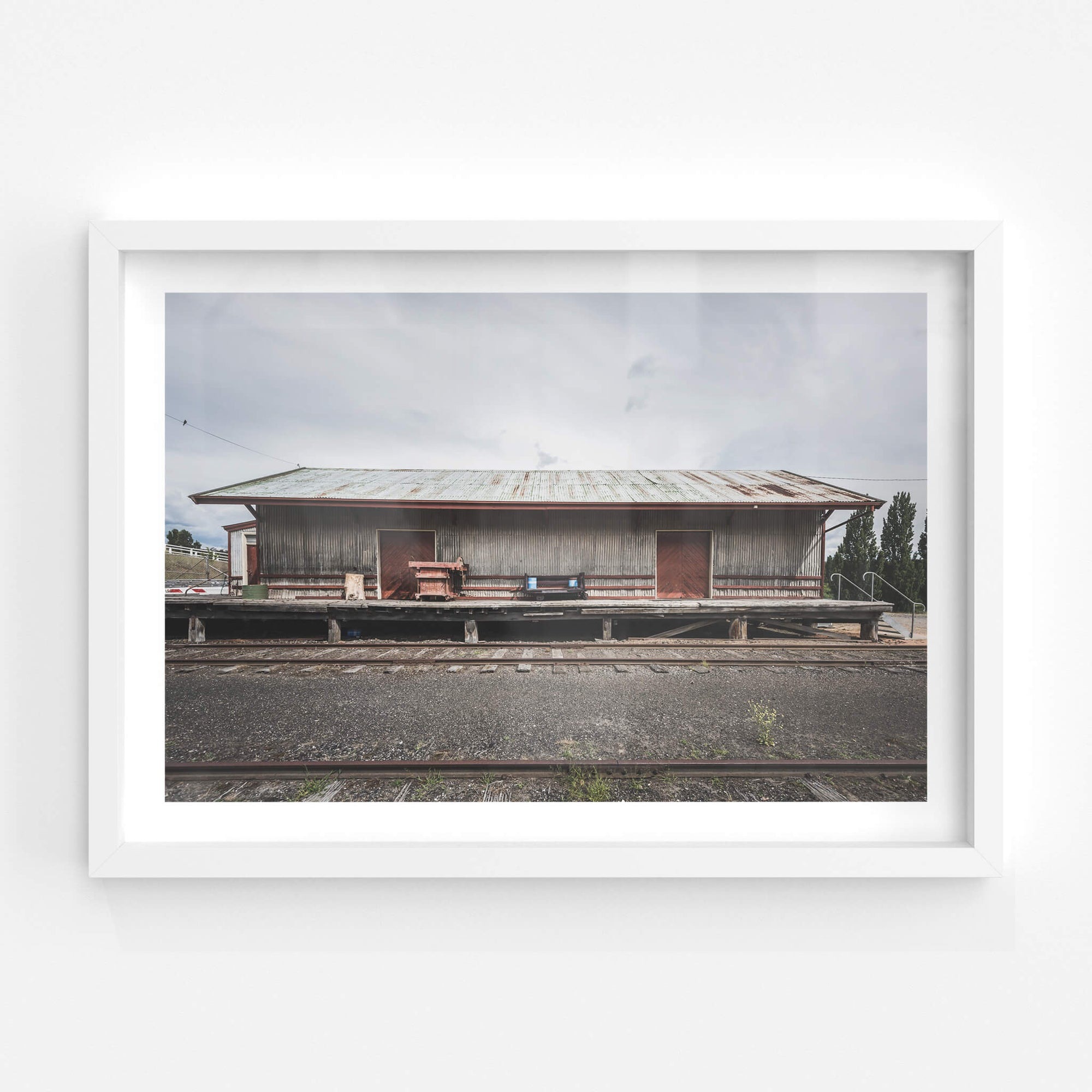 Goods Shed | Bombala Station Fine Art Print - Lost Collective Shop