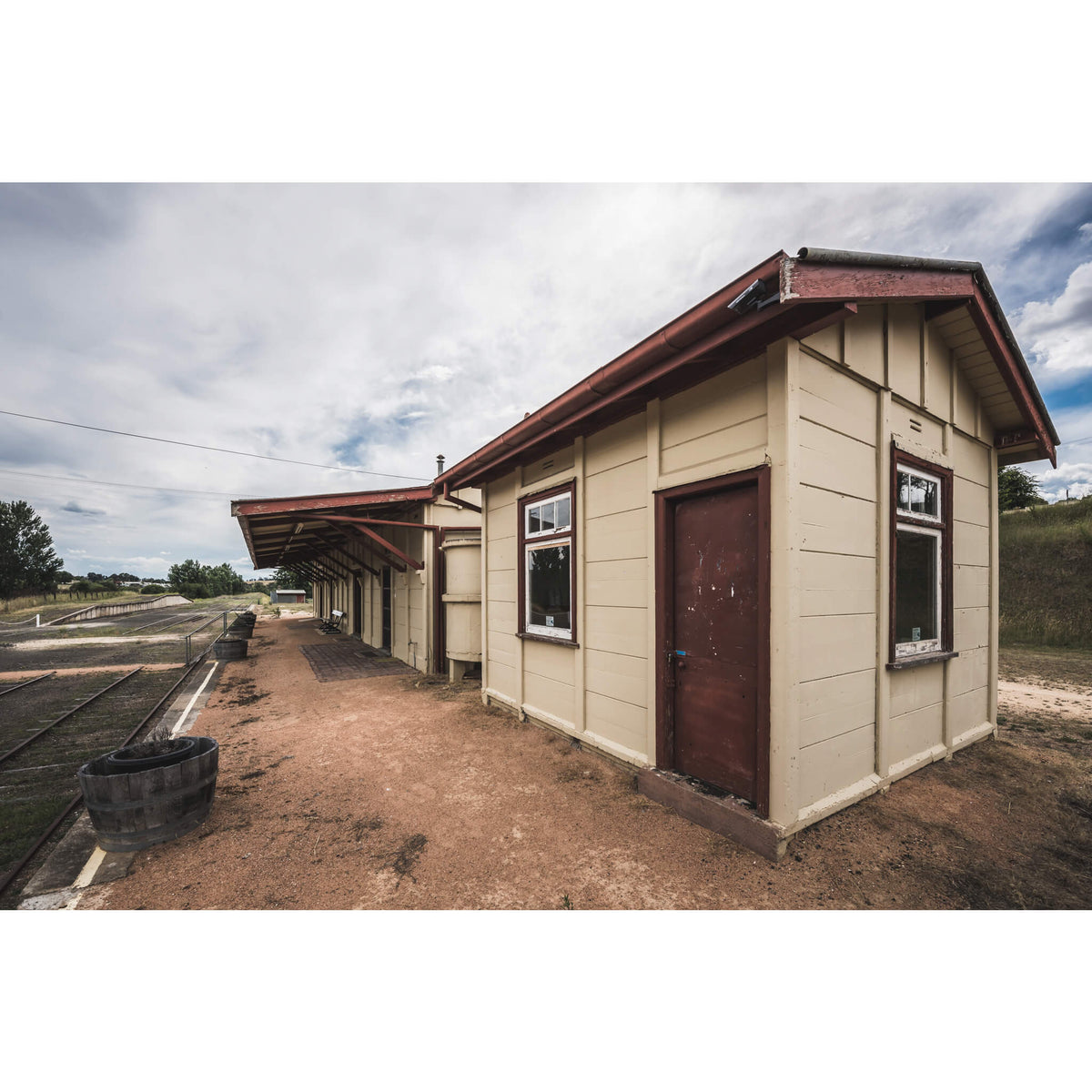 Lever Room | Bombala Station Fine Art Print - Lost Collective Shop