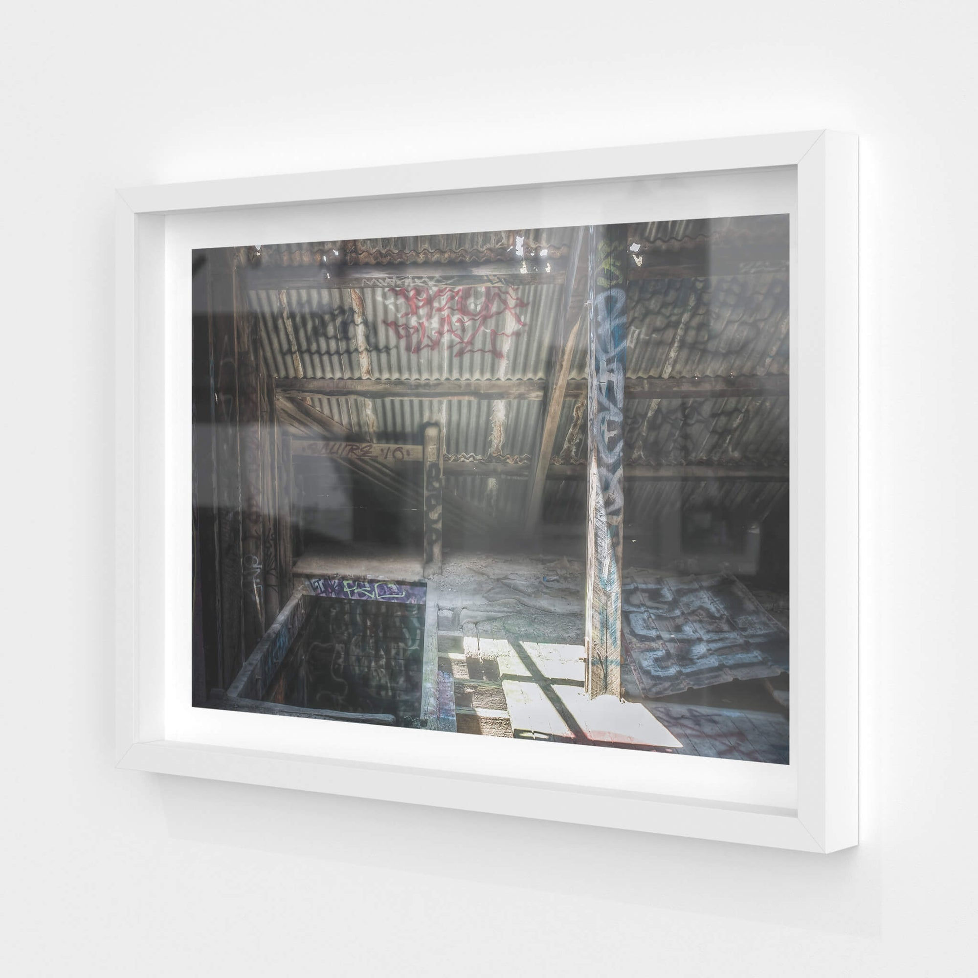 Attic Space | Box Hill Brickworks Fine Art Print - Lost Collective Shop