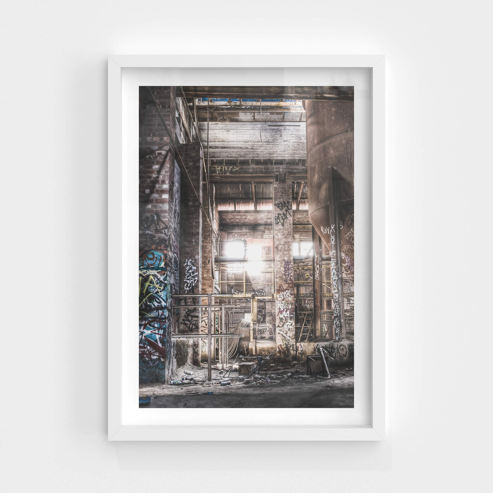 Feeder Bin House | Box Hill Brickworks Fine Art Print - Lost Collective Shop