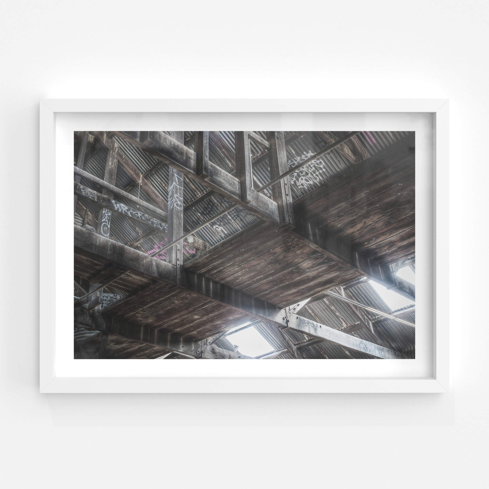 Gantry | Box Hill Brickworks Fine Art Print - Lost Collective Shop