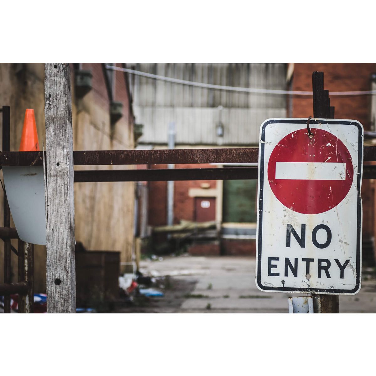 No Entry | Bradmill Denim