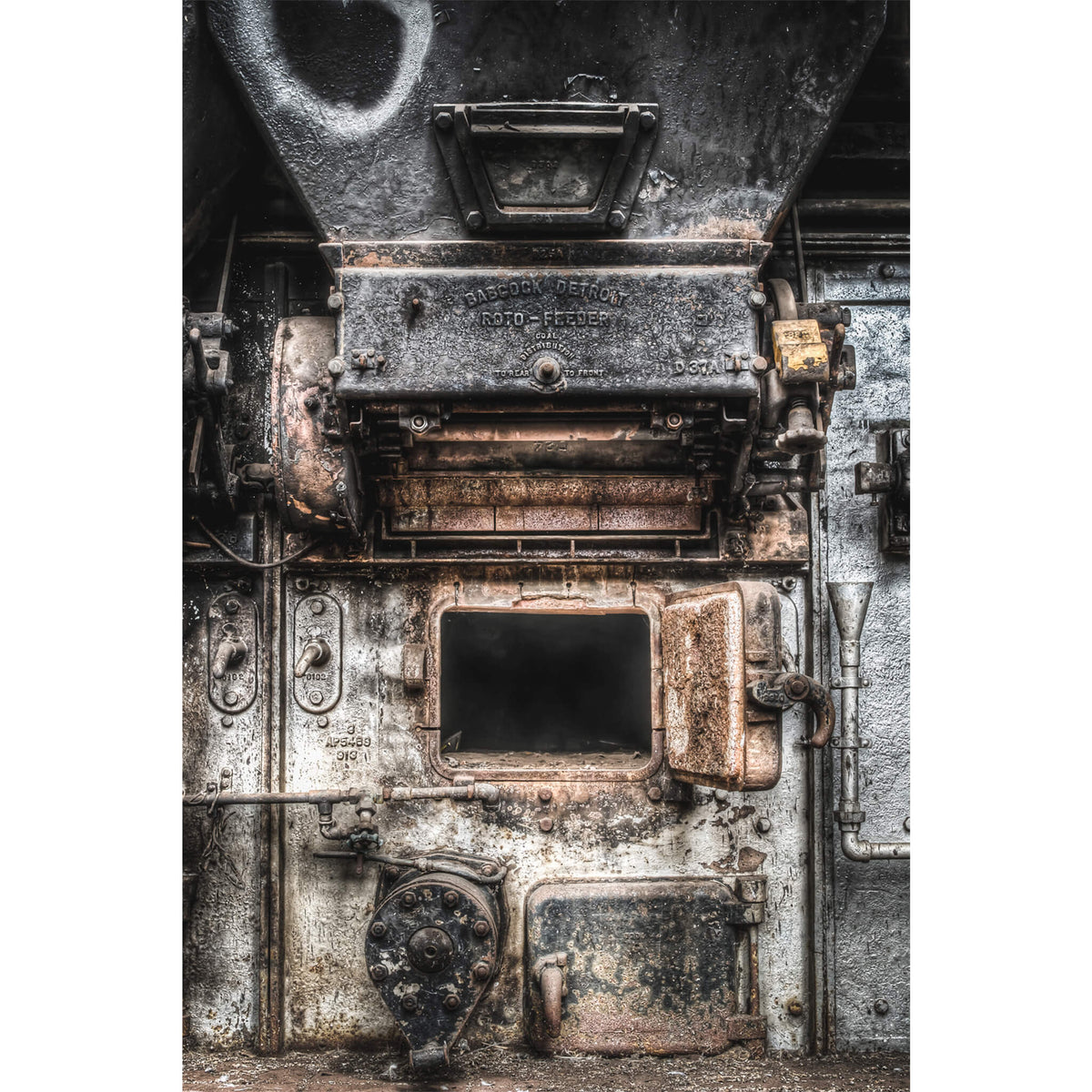 Roto Feeder | Bradmill Denim Fine Art Print - Lost Collective Shop