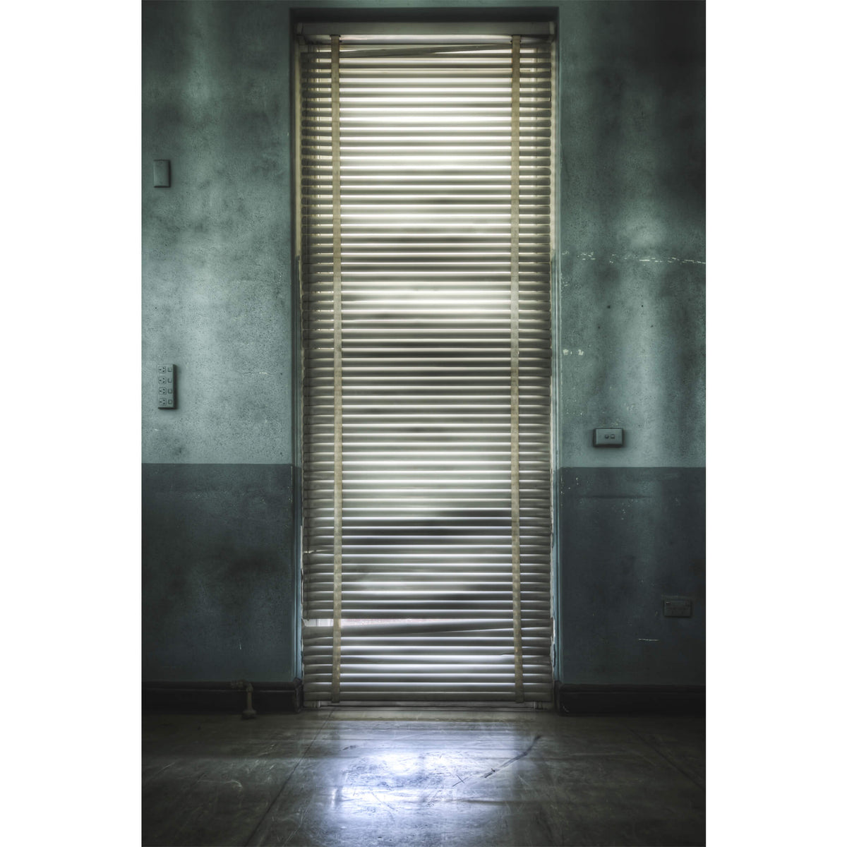 Backlit Blind | Callan Park Fine Art Print - Lost Collective Shop