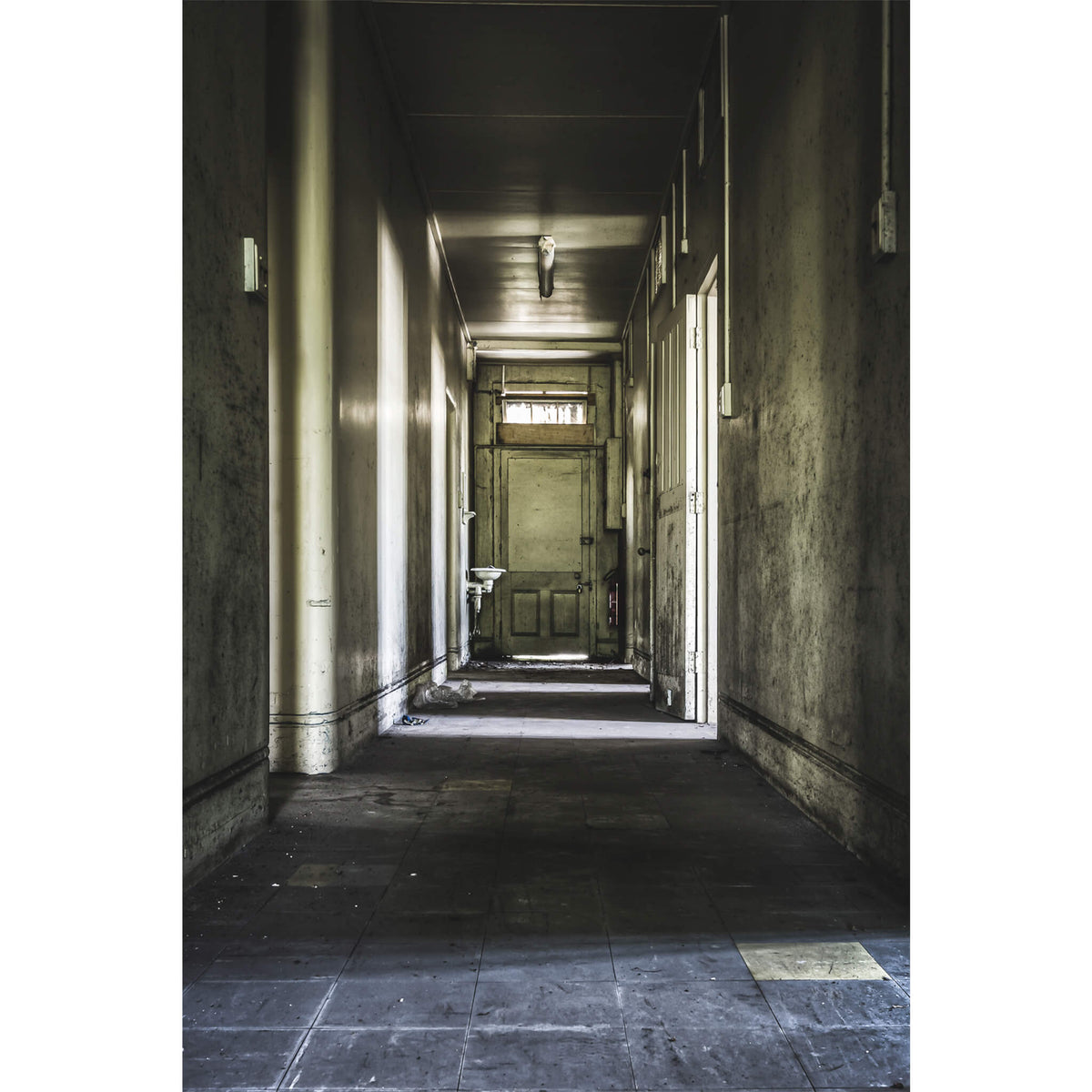 Side Lit Hallway | Callan Park Fine Art Print - Lost Collective Shop