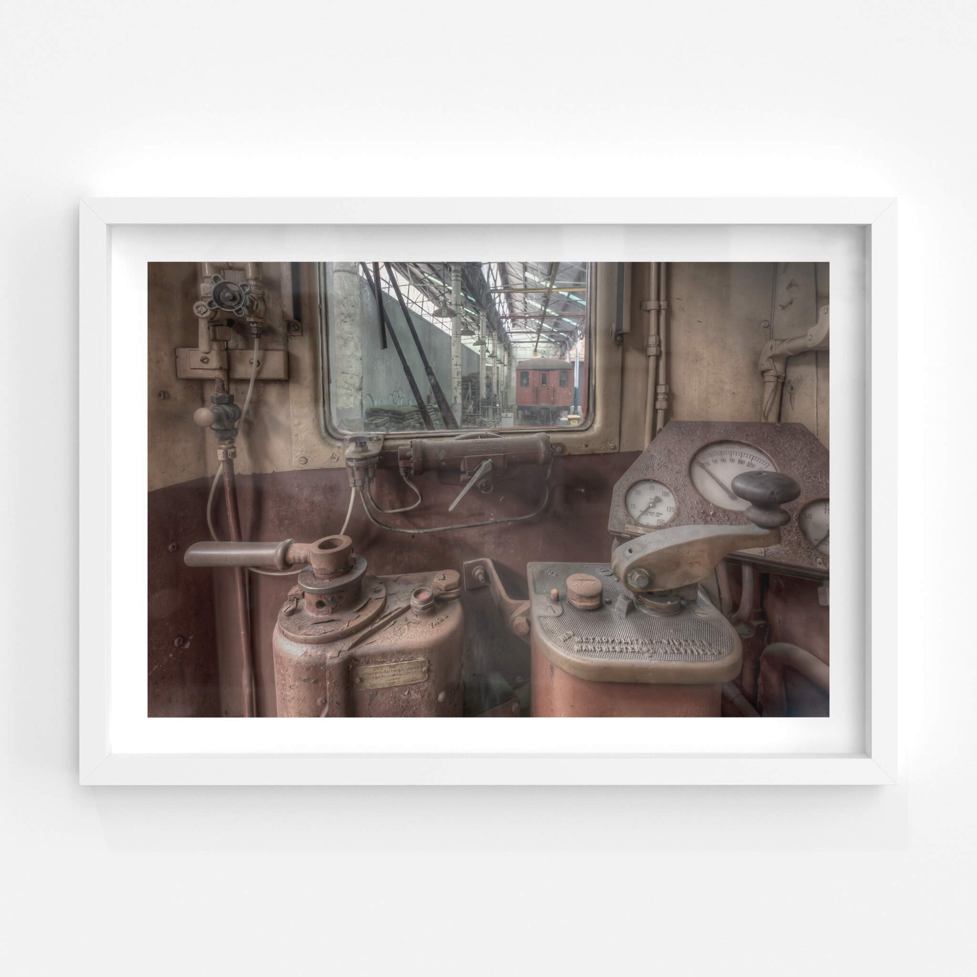 3102 Drivers Controls | Eveleigh Paint Shop Fine Art Print - Lost Collective Shop