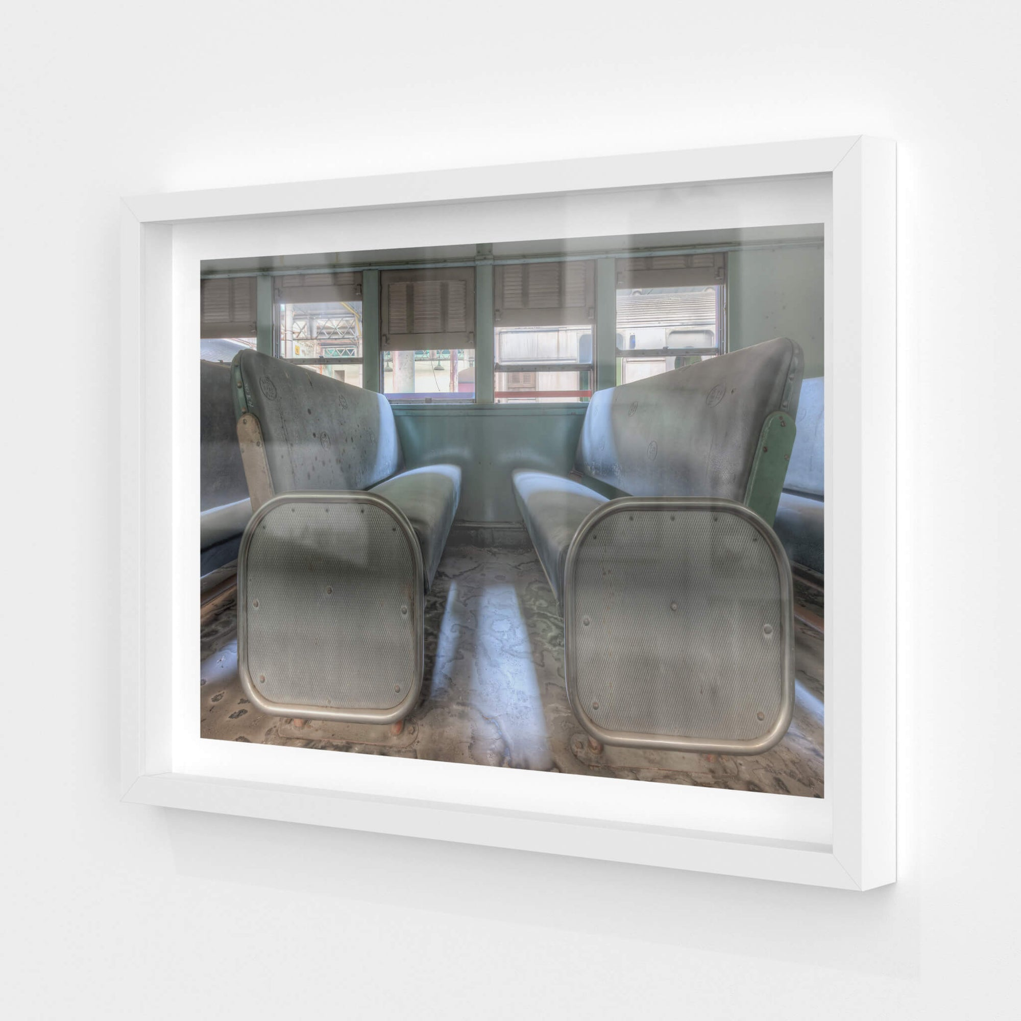 4052 Double Deck Seats | Eveleigh Paint Shop Fine Art Print - Lost Collective Shop