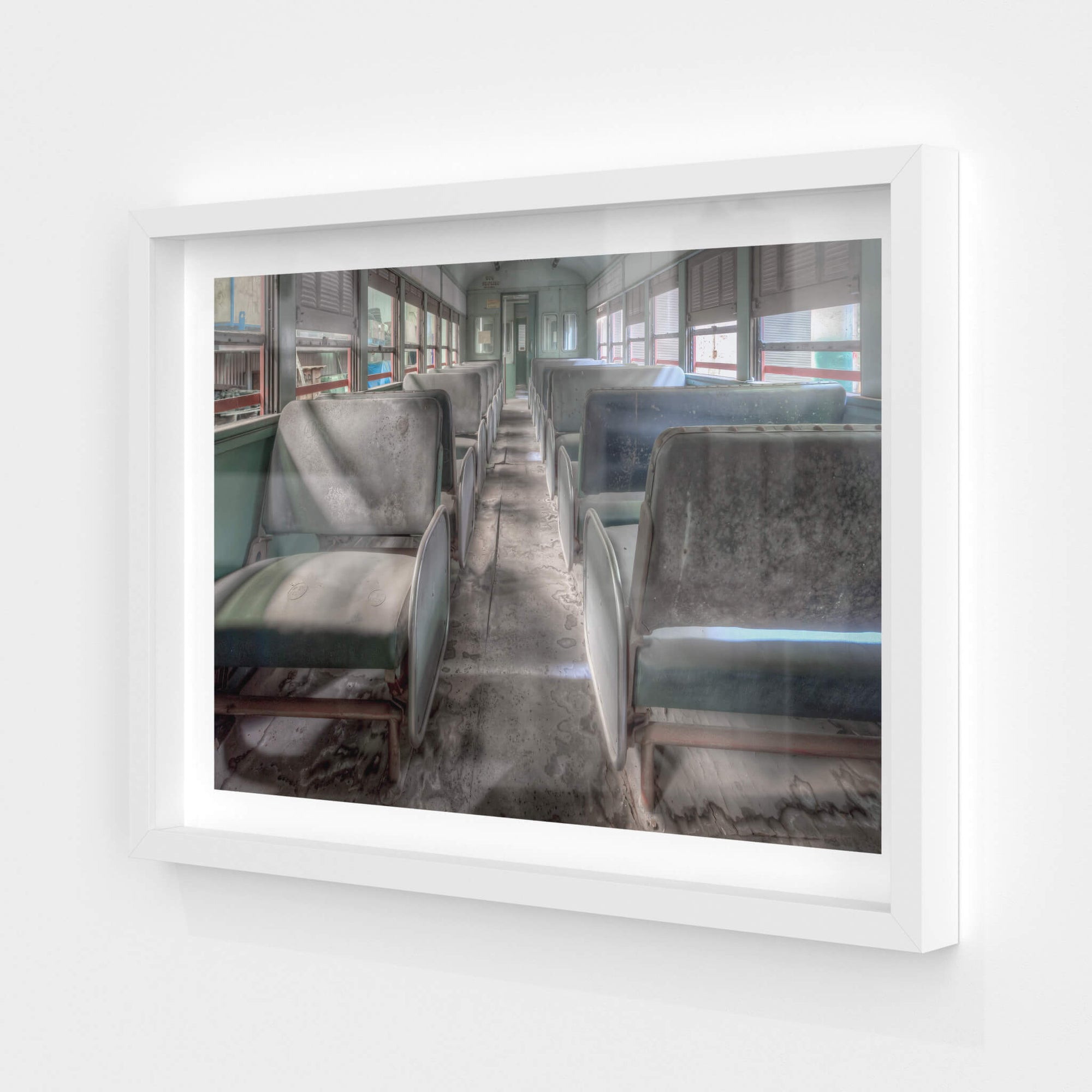 4052 Interior | Eveleigh Paint Shop Fine Art Print - Lost Collective Shop