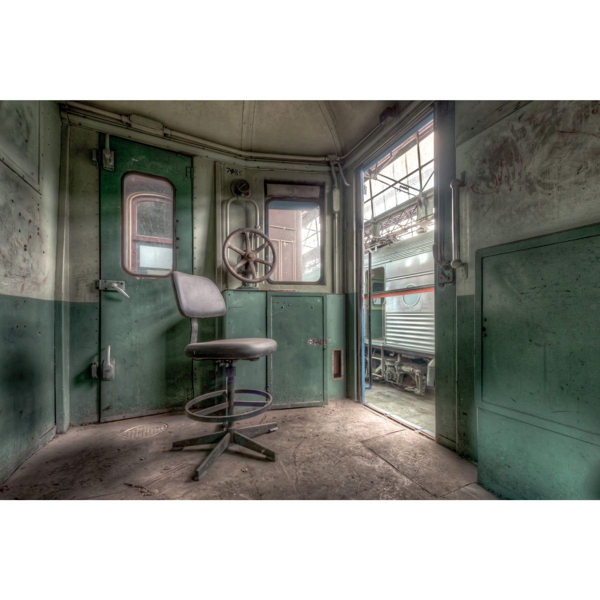 Guards Compartment | Eveleigh Paint Shop Fine Art Print - Lost Collective Shop