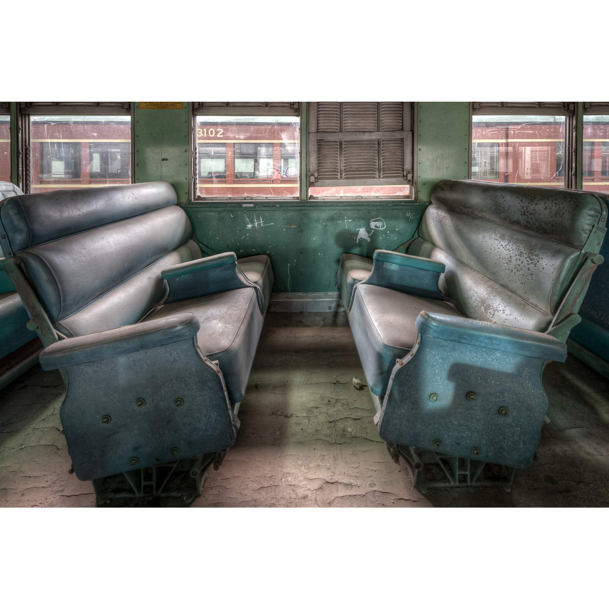 Interurban Passenger Seating | Eveleigh Paint Shop Fine Art Print - Lost Collective Shop