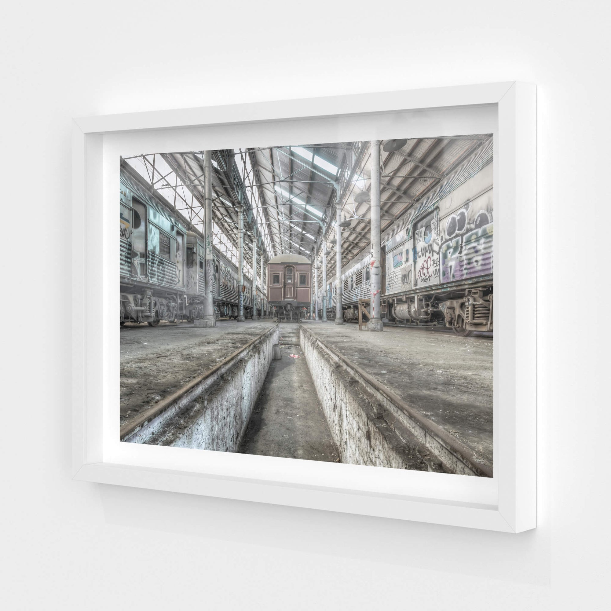 Pit | Eveleigh Paint Shop Fine Art Print - Lost Collective Shop