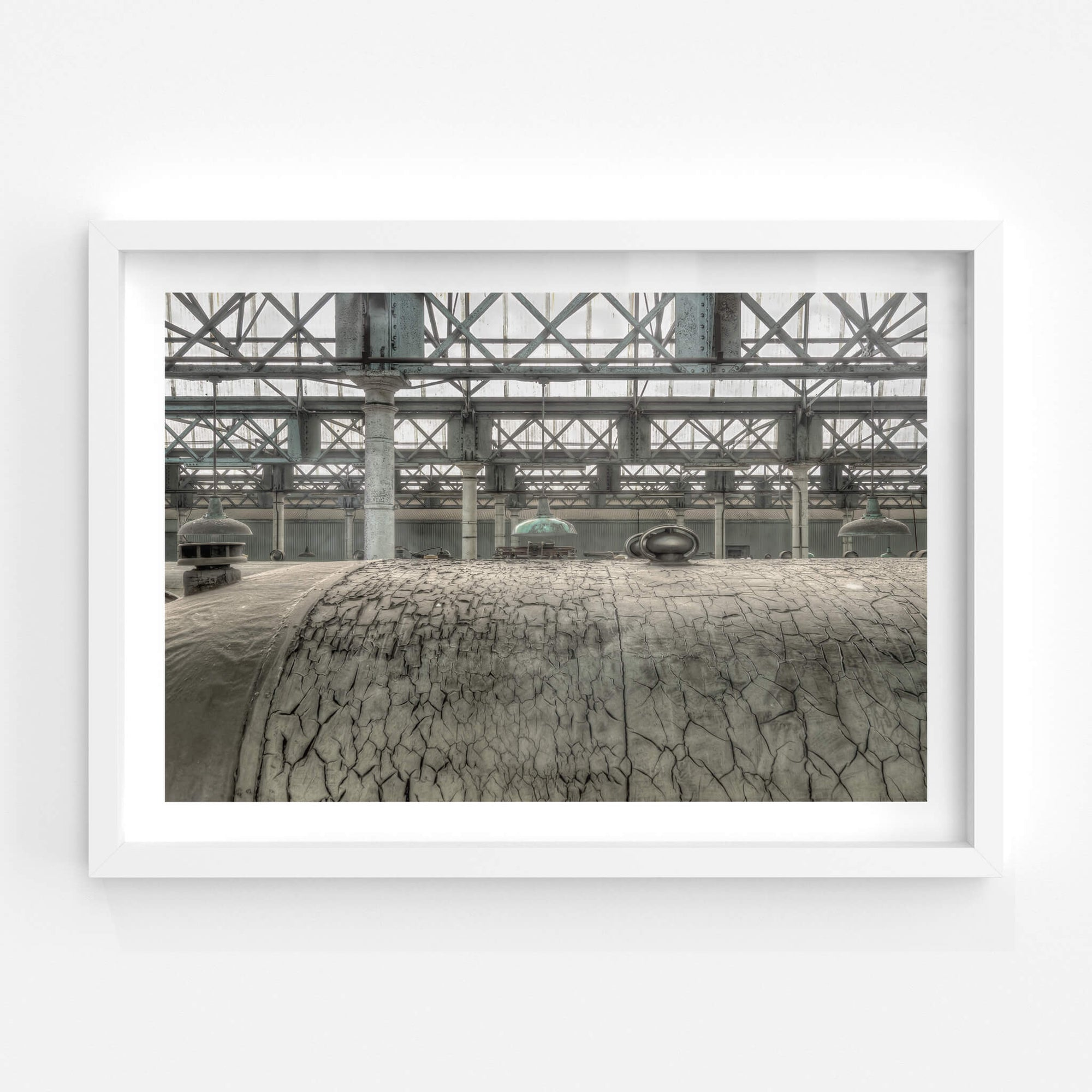 Roof Covering | Eveleigh Paint Shop Fine Art Print - Lost Collective Shop