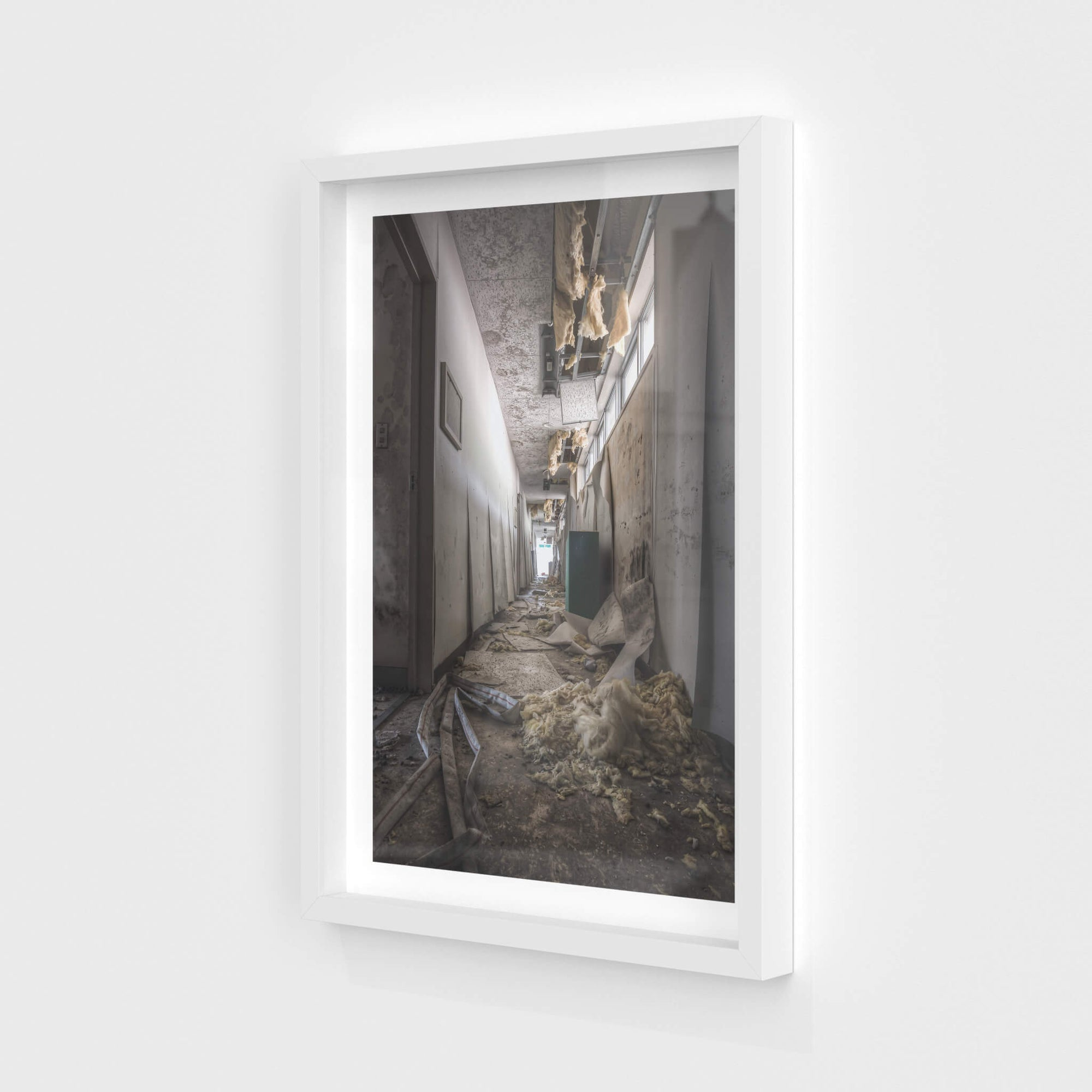 Bathroom Hall | Family School Fureai Fine Art Print - Lost Collective Shop