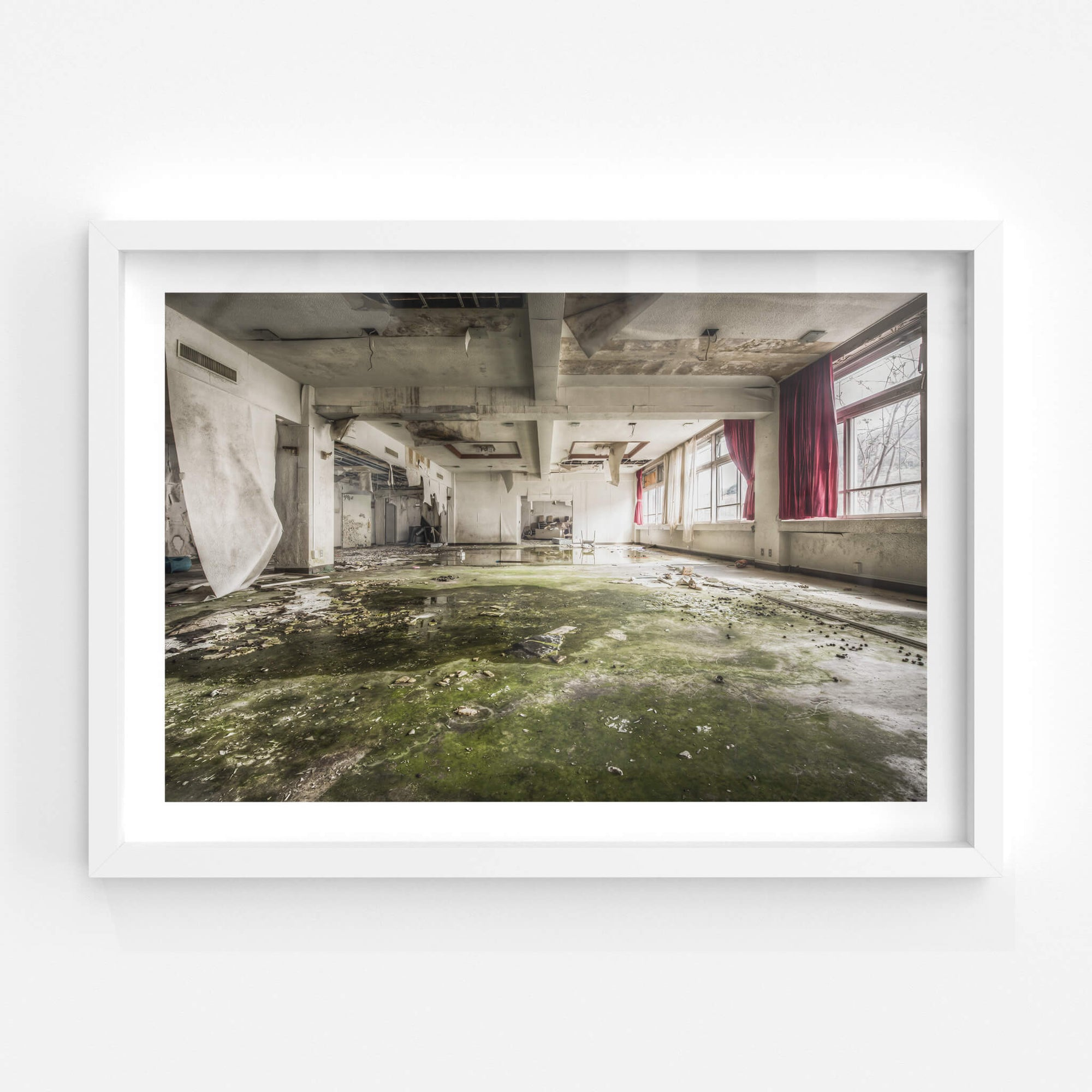 Cafeteria | Family School Fureai Fine Art Print - Lost Collective Shop